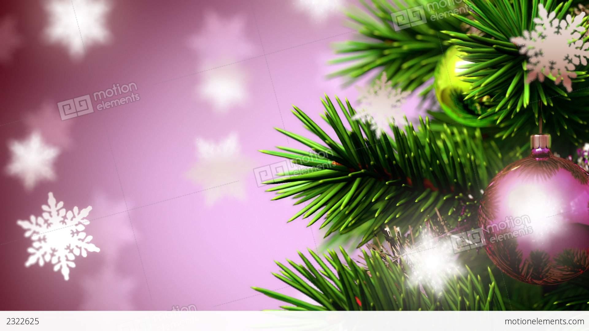 Beautiful Christmas Background Stock Animation 2322625