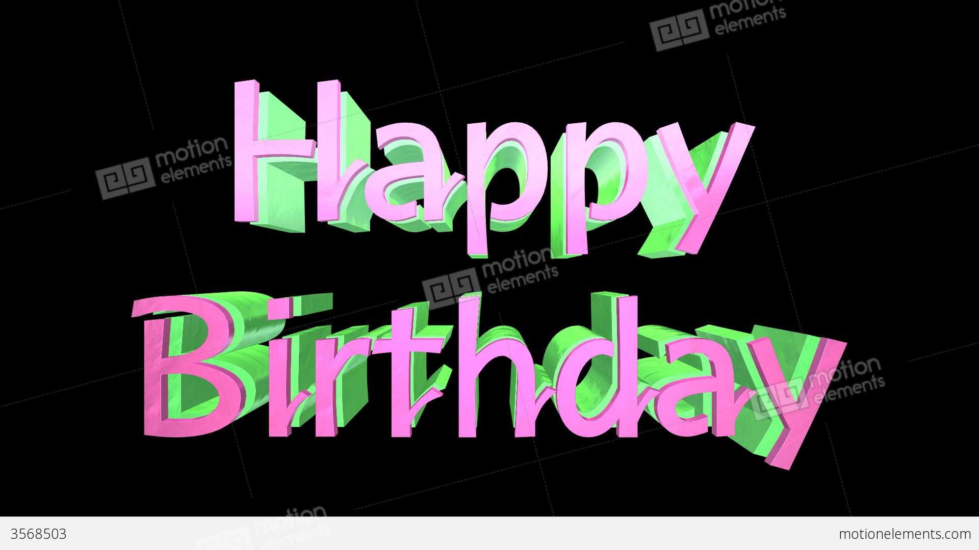 happy birthday logo stock animation 3568503 birthday logos free birthday logos free