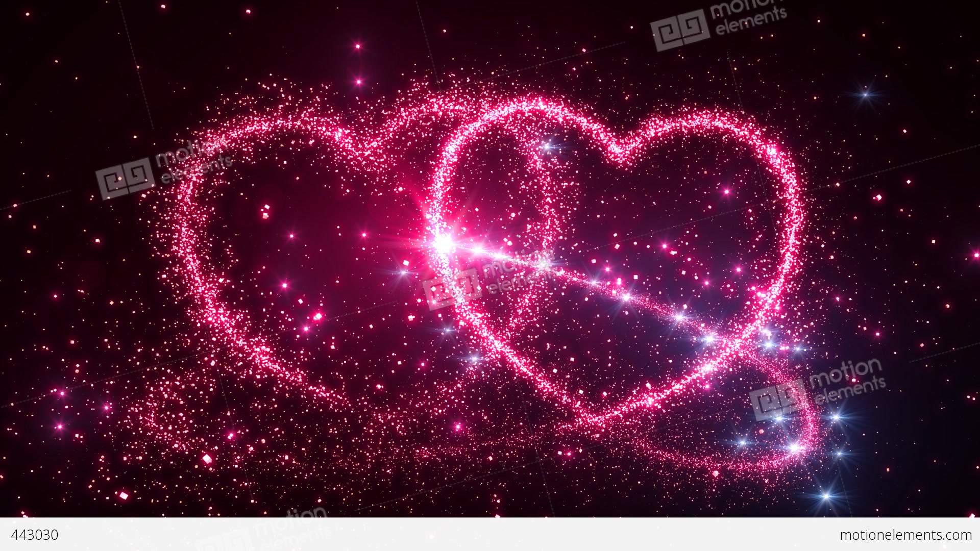 Heart Glitter 2 D1 Stock Animation | 443030