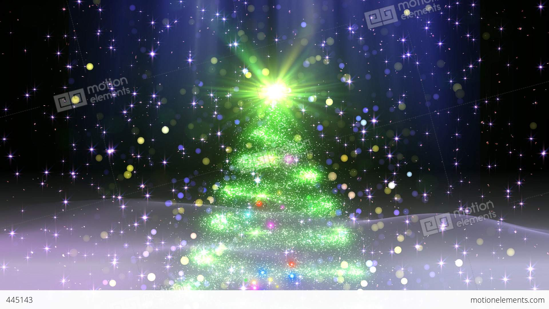 christmas tree glitter ac1 stock video footage - Glitter Christmas Tree