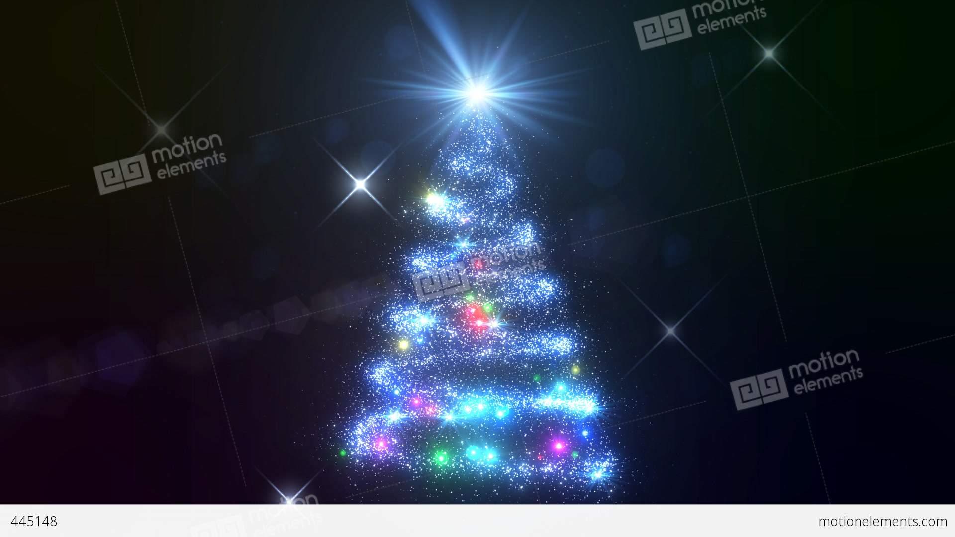 Christmas Tree Glitter Acb1 Stock Animation | 445148