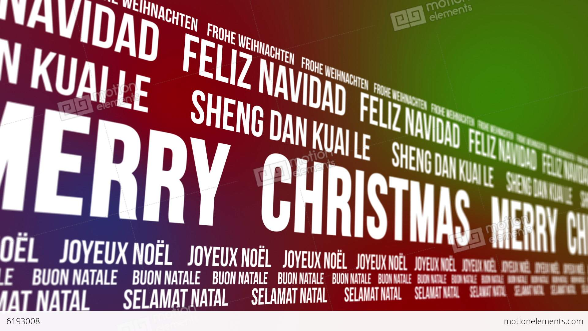 how to say merry christmas in different languages video