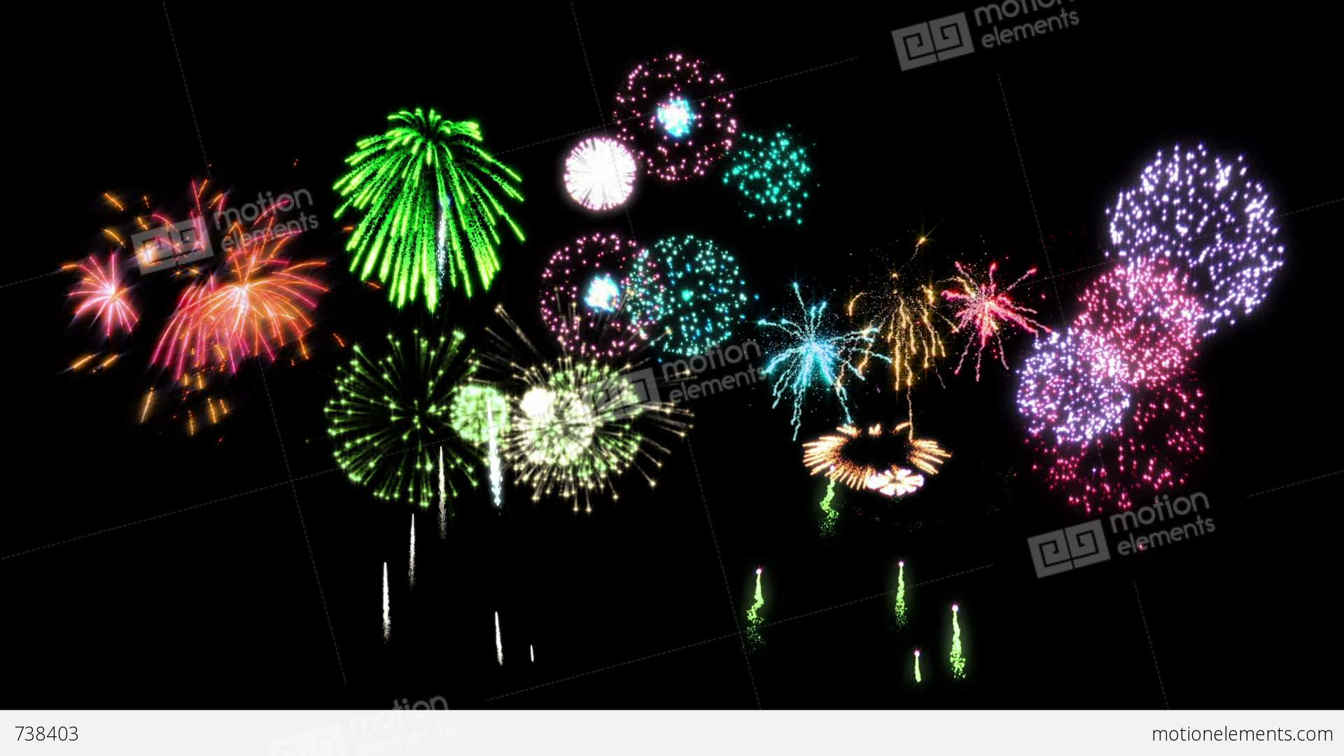 Fireworks Animated Gif