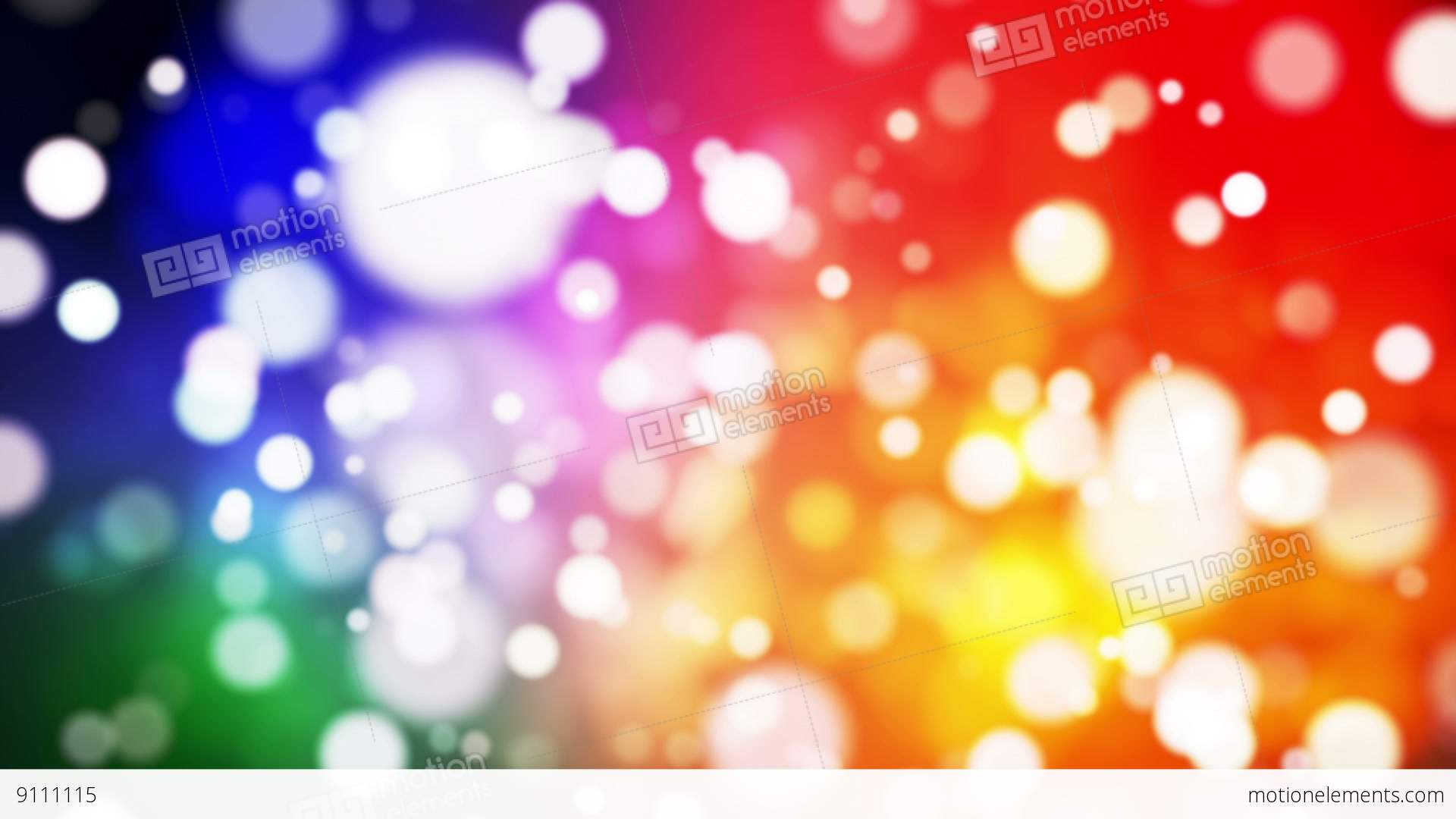 Broadcast Light Bokeh, Multi Color, Events, Loopable, HD Stock Animation