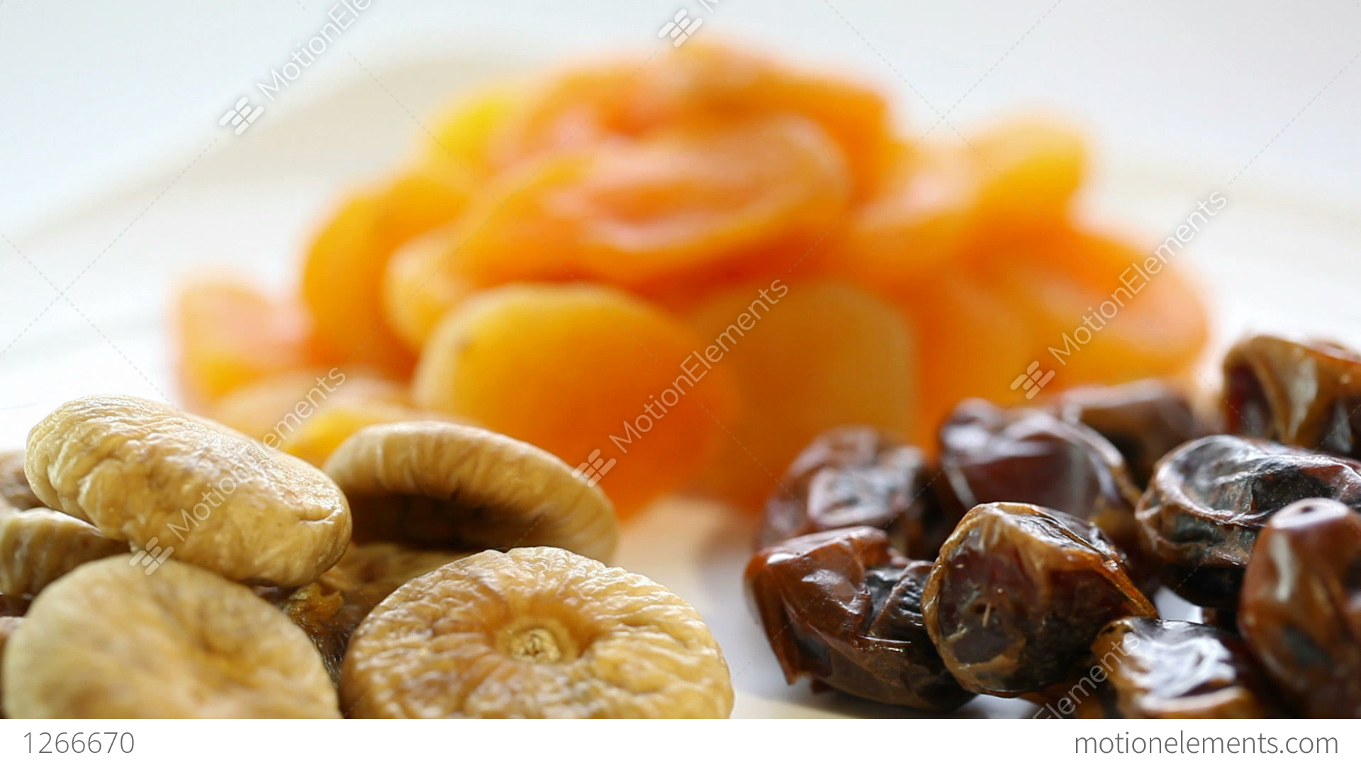 Dried Fruit Stock Video Footage 1266670