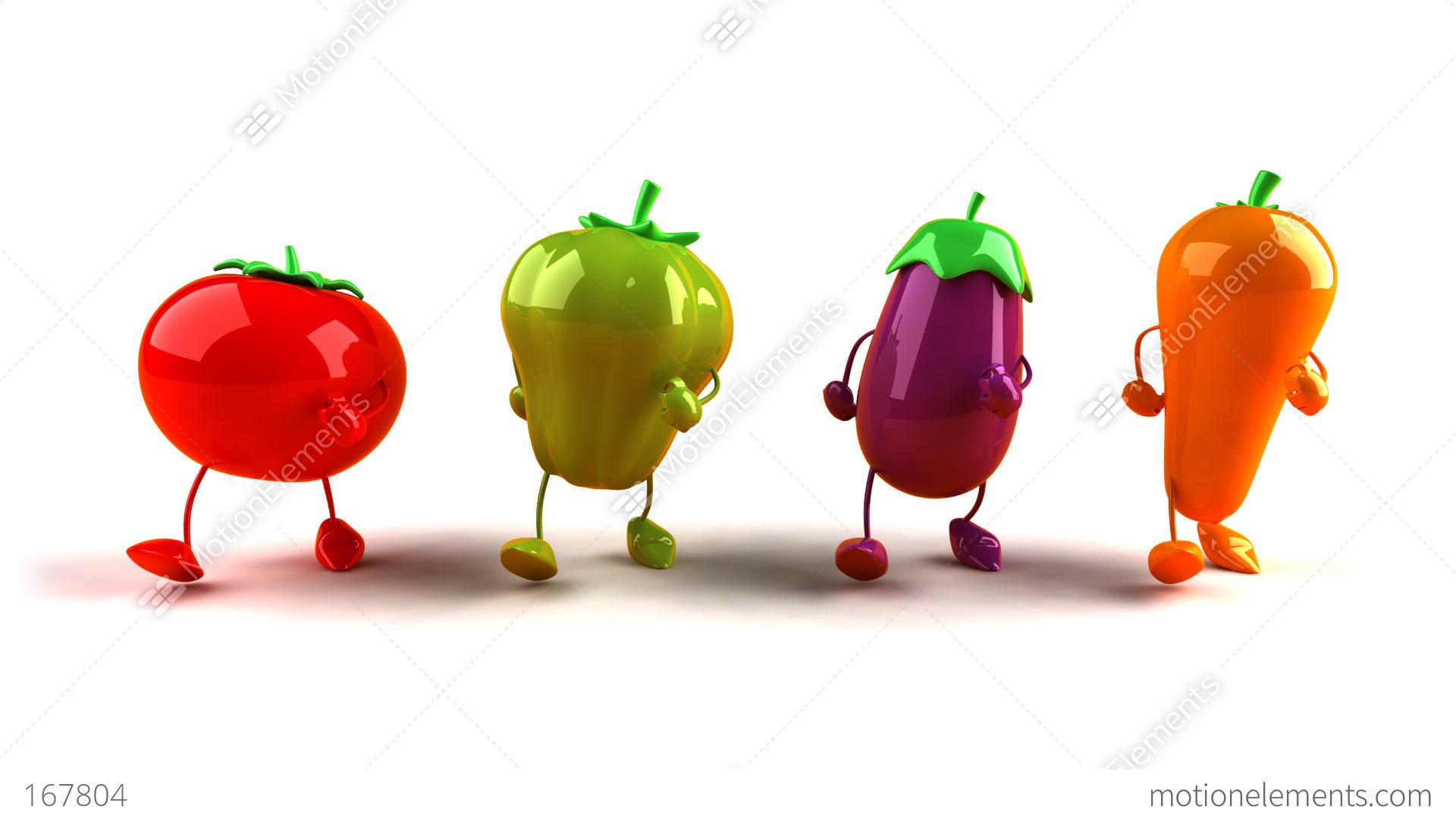 vegetables walk1  u0e20 u0e32 u0e1e u0e40 u0e04 u0e25 u0e37 u0e48 u0e2d u0e19 u0e44 u0e2b u0e27 167804 Drawings of Fruits and Vegetables Fruit and Vegetable Border Clip Art