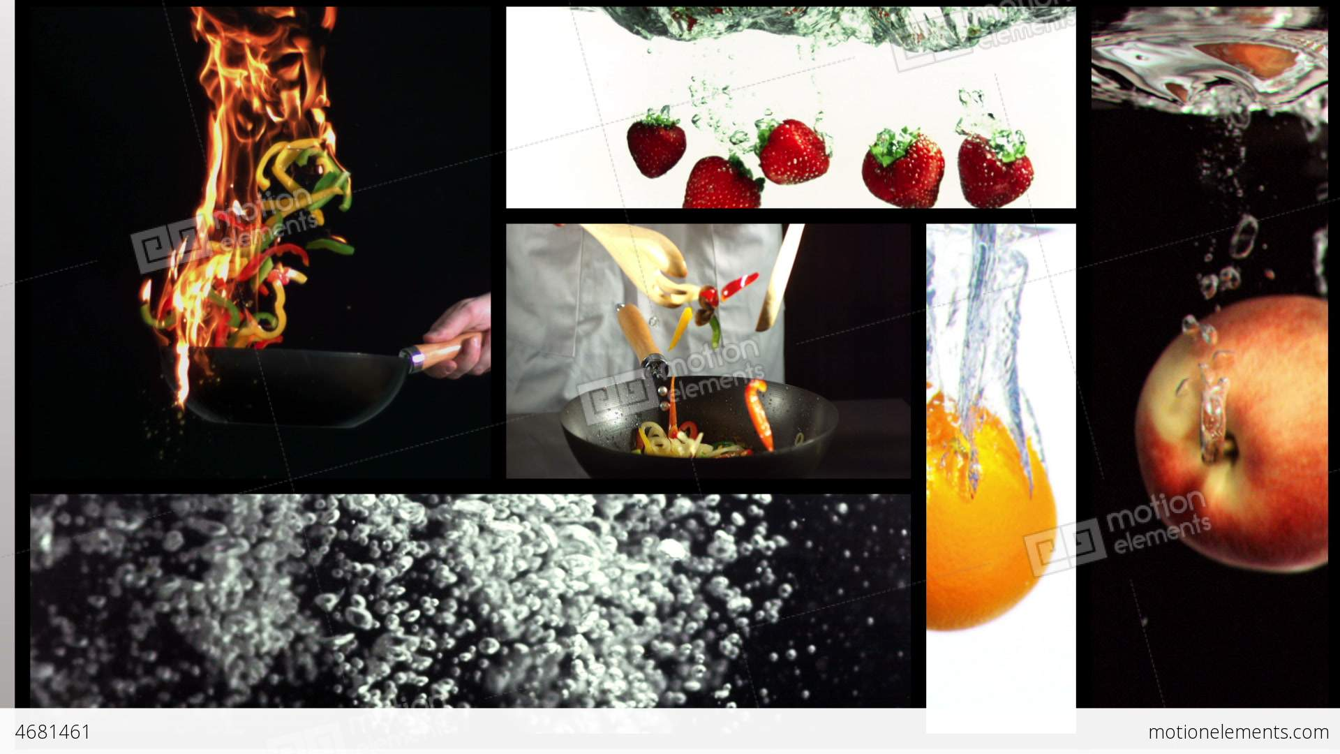 clips cooking short drink food animation