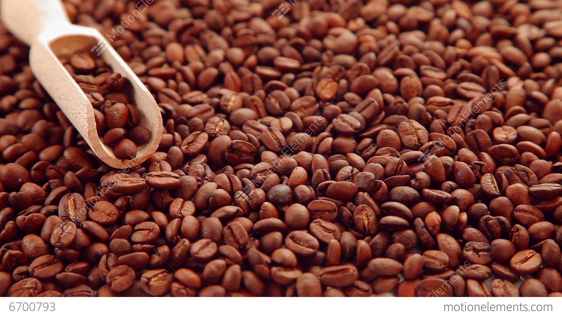 Coffee Beans Desktop Background coffee bean seeds background stock video footage | 6700793