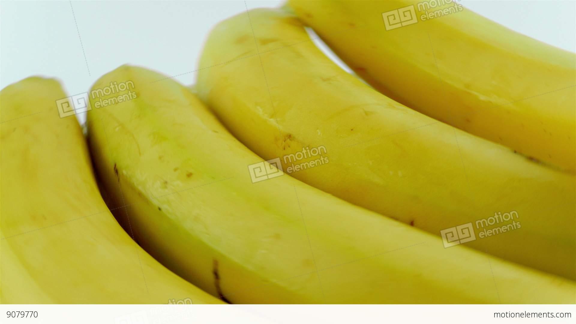 Background image rotate 90 -  Alt Video Close Up Shot Of Rotating Organic Bananas White Background