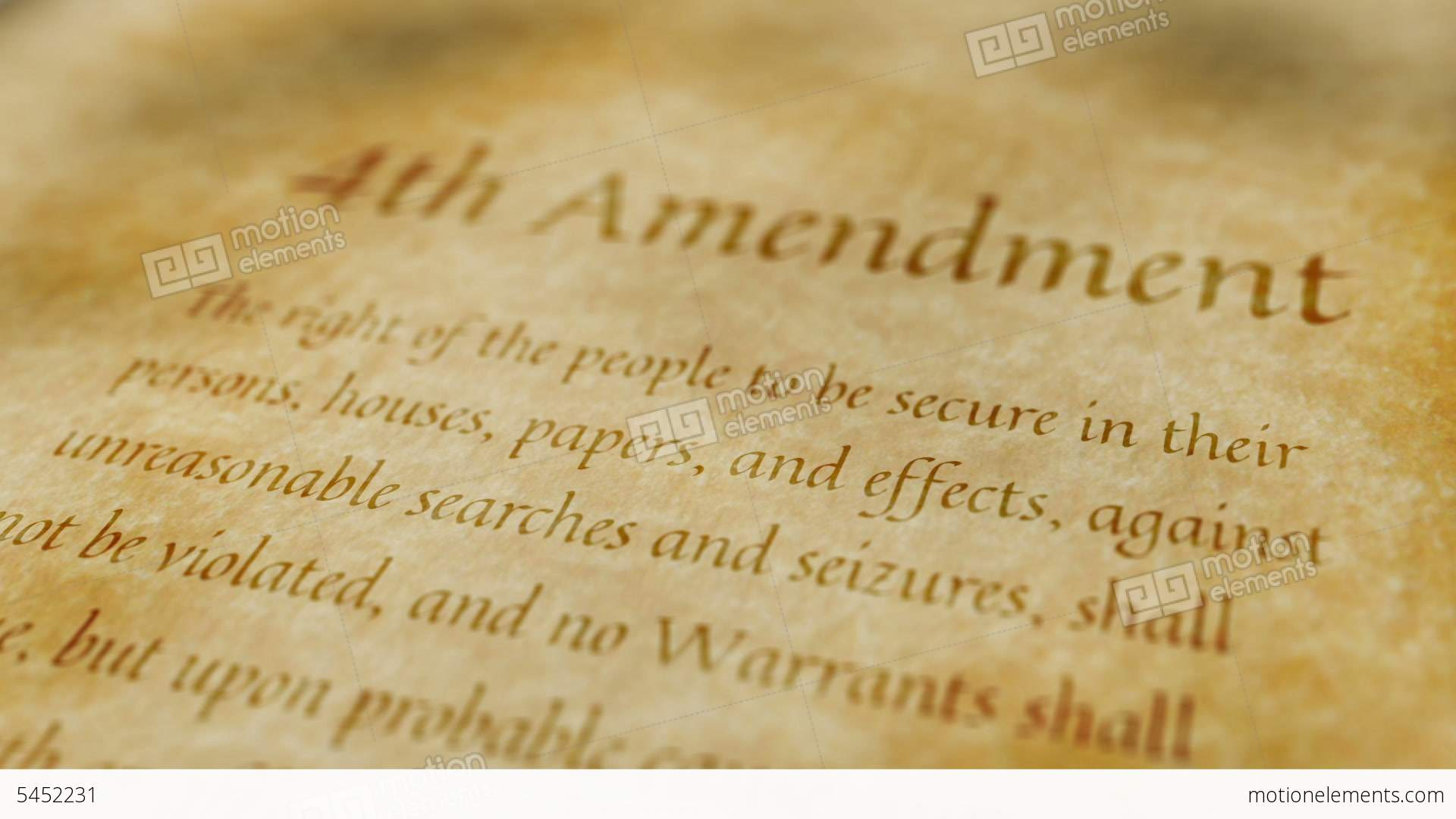fourth amendment While the twenty-fourth amendment has had little direct impact since the abolition of poll taxes and the court's ruling in harper,.