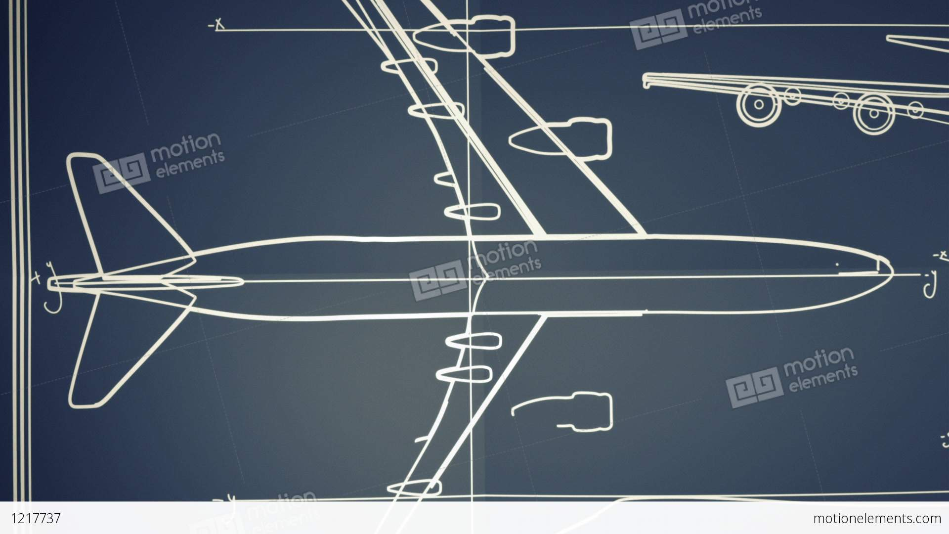 Aircraft blueprint smooth camera pan and zoom stock animation 1217737 aircraft blueprint smooth camera pan and zoom stock video footage malvernweather Images