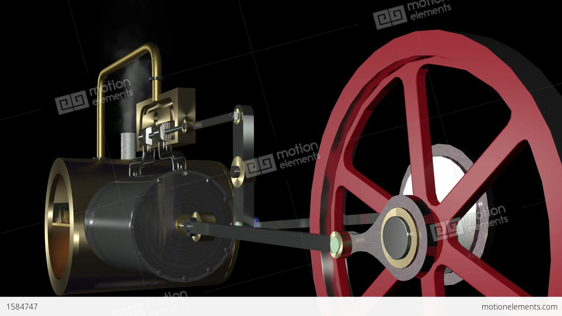 Me Steam Engine Animation Hd A on medical technology machines
