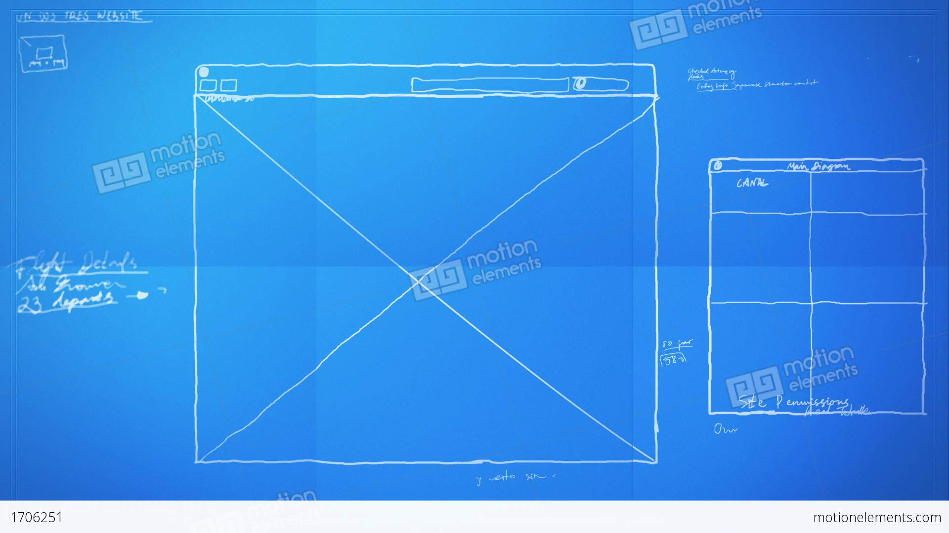 Graphic design layout process time lapse blueprint stock animation graphic design layout process time lapse blueprint stock video footage malvernweather Gallery