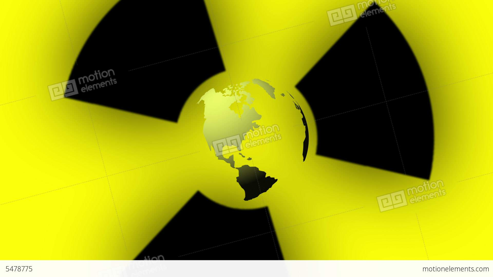 Pulsing radiation symbol and earth globe stock animation 5478775 pulsing radiation symbol and earth globe stock video footage biocorpaavc Image collections