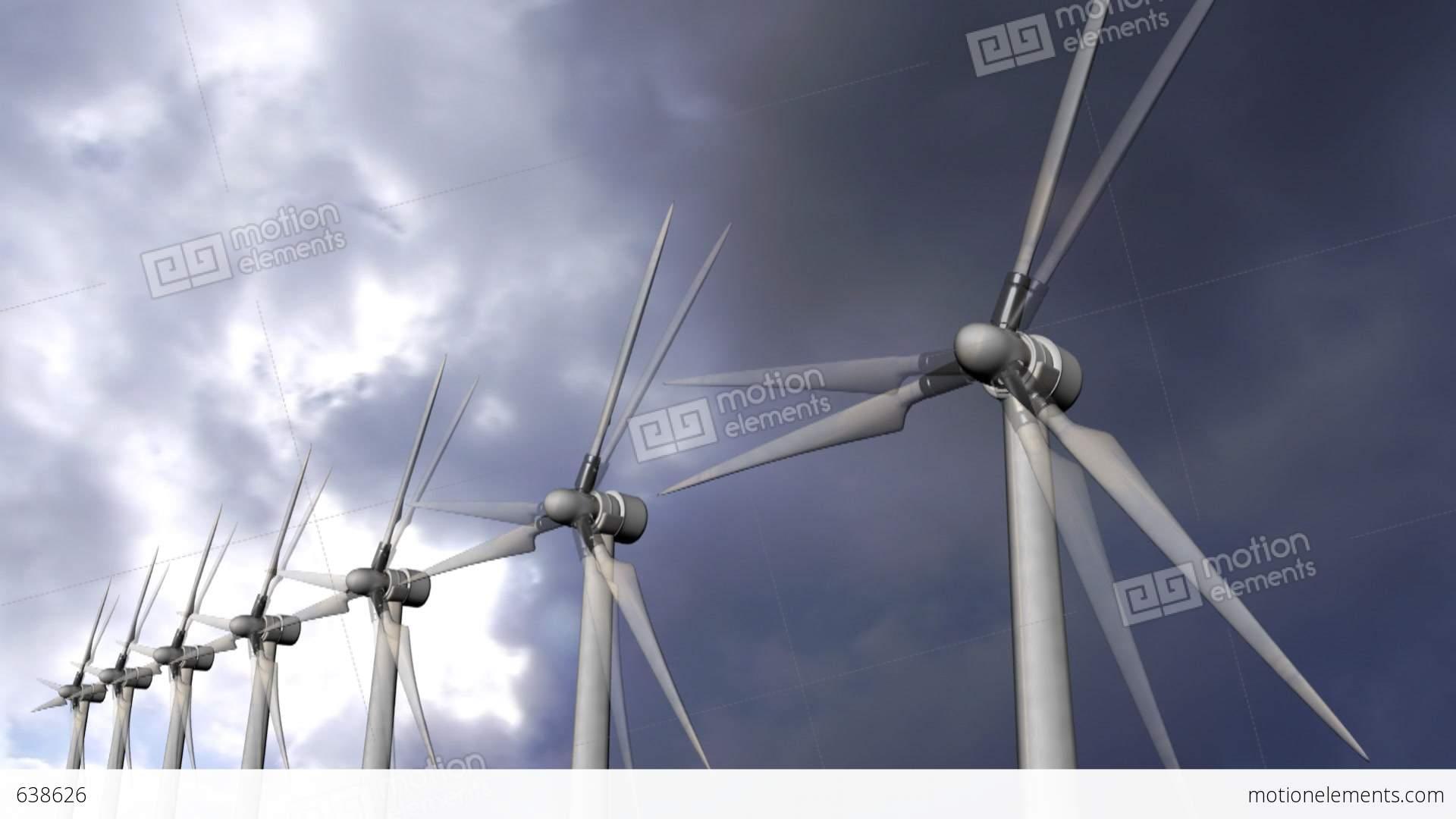 Solar Panels Wind Turbine Environment Ecological Energy