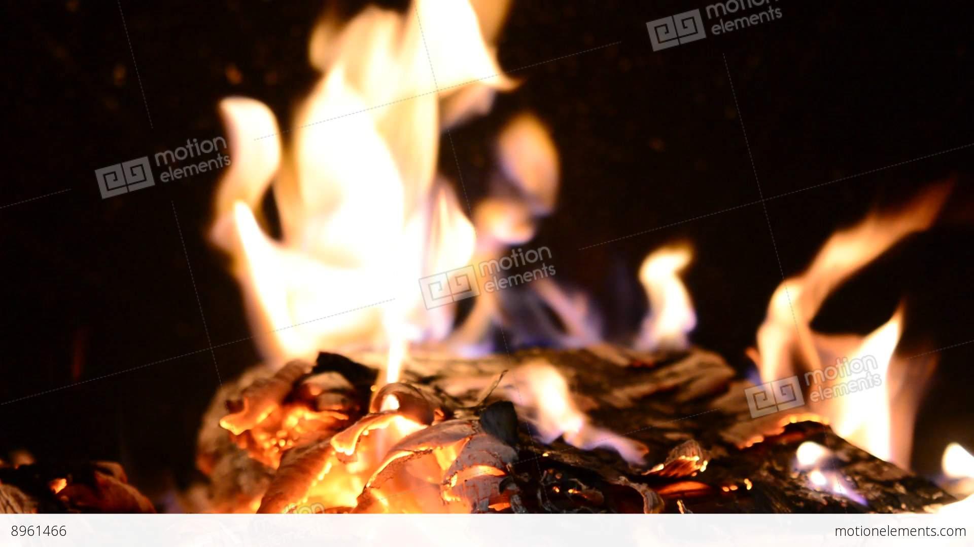 fire in fireplace 영상 소스 8961466