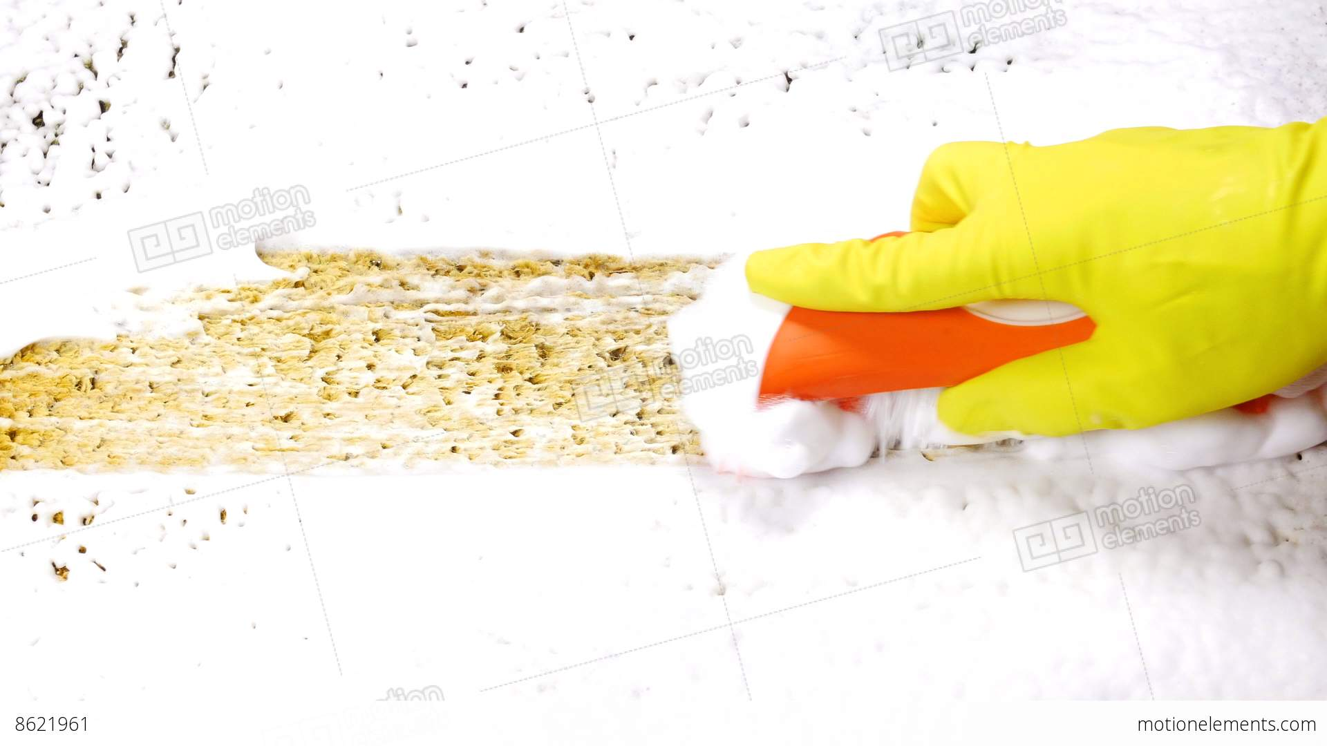 Previousnext Middot Cleaning Dirty Carpet With Hand Brush Stock Video Fooe