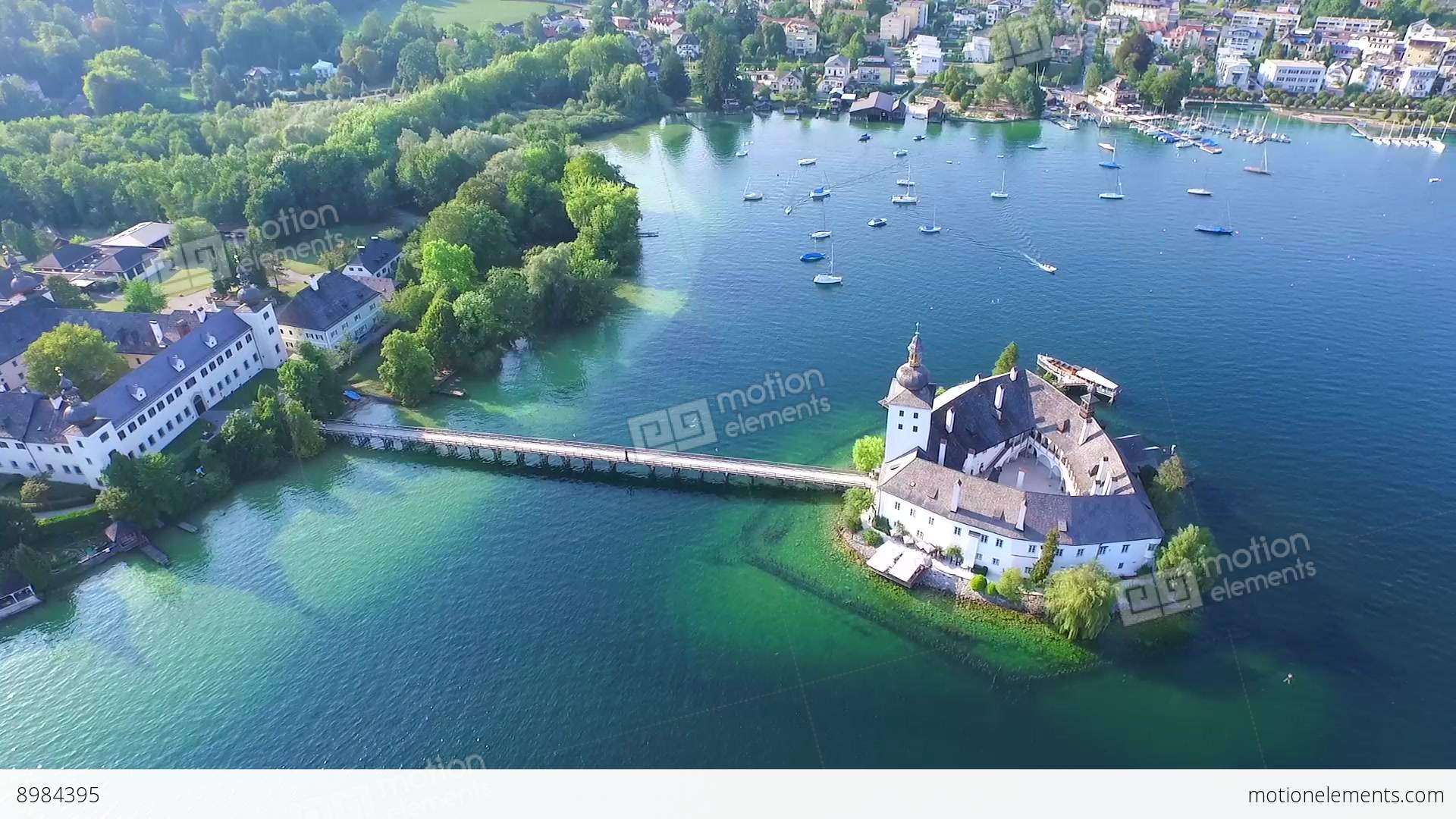 gmunden  traunsee  lake austria summer stock video footage free wedding clip art and borders free wedding clip art templates