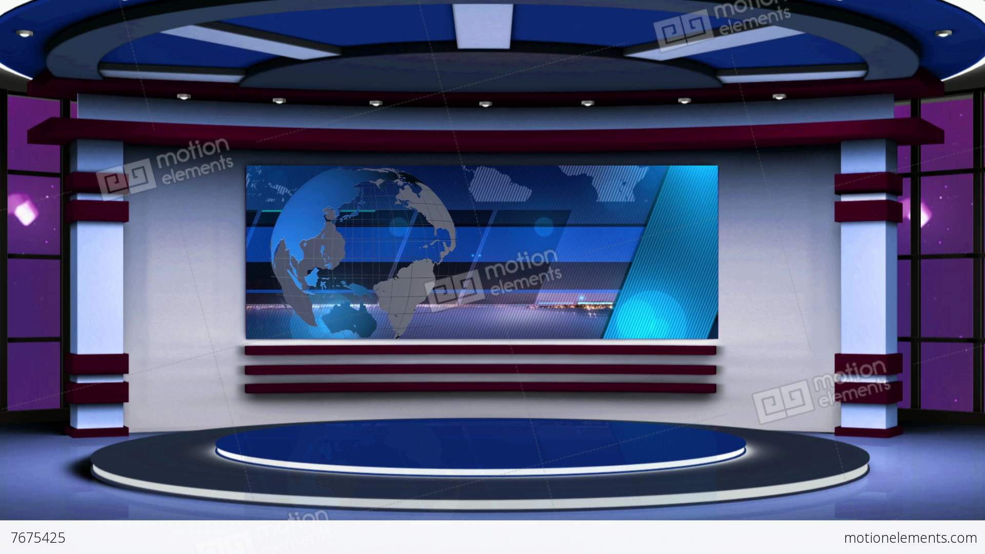 Virtual TV Studio Background  YouTube
