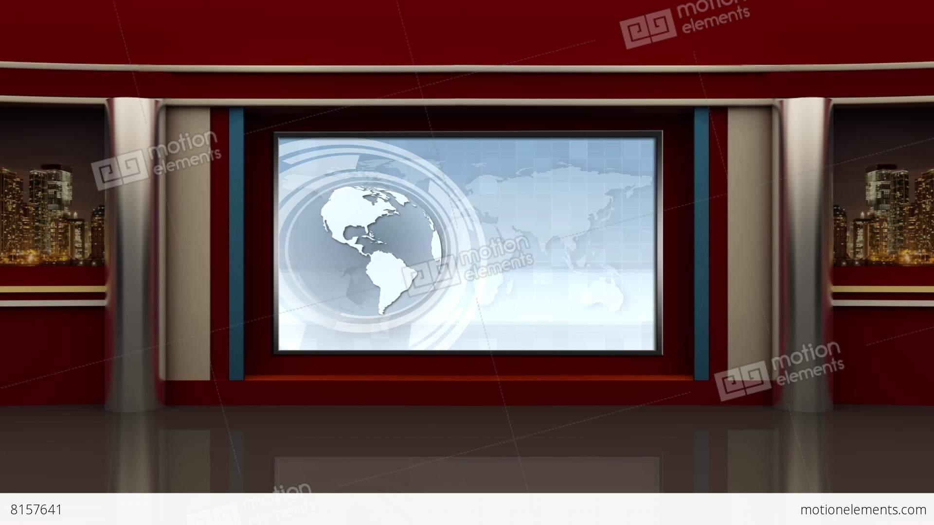 Tv Studio Background Psd