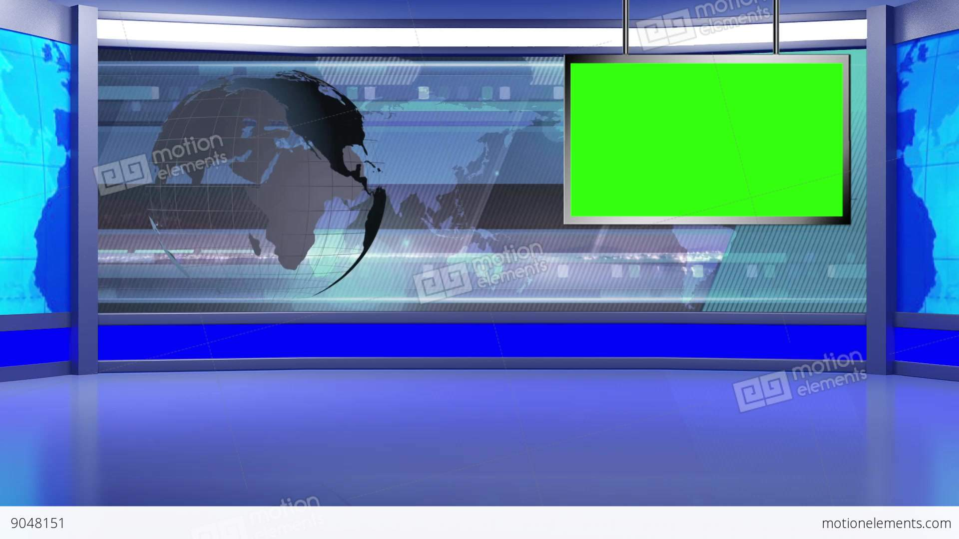 how to build a tv studio background