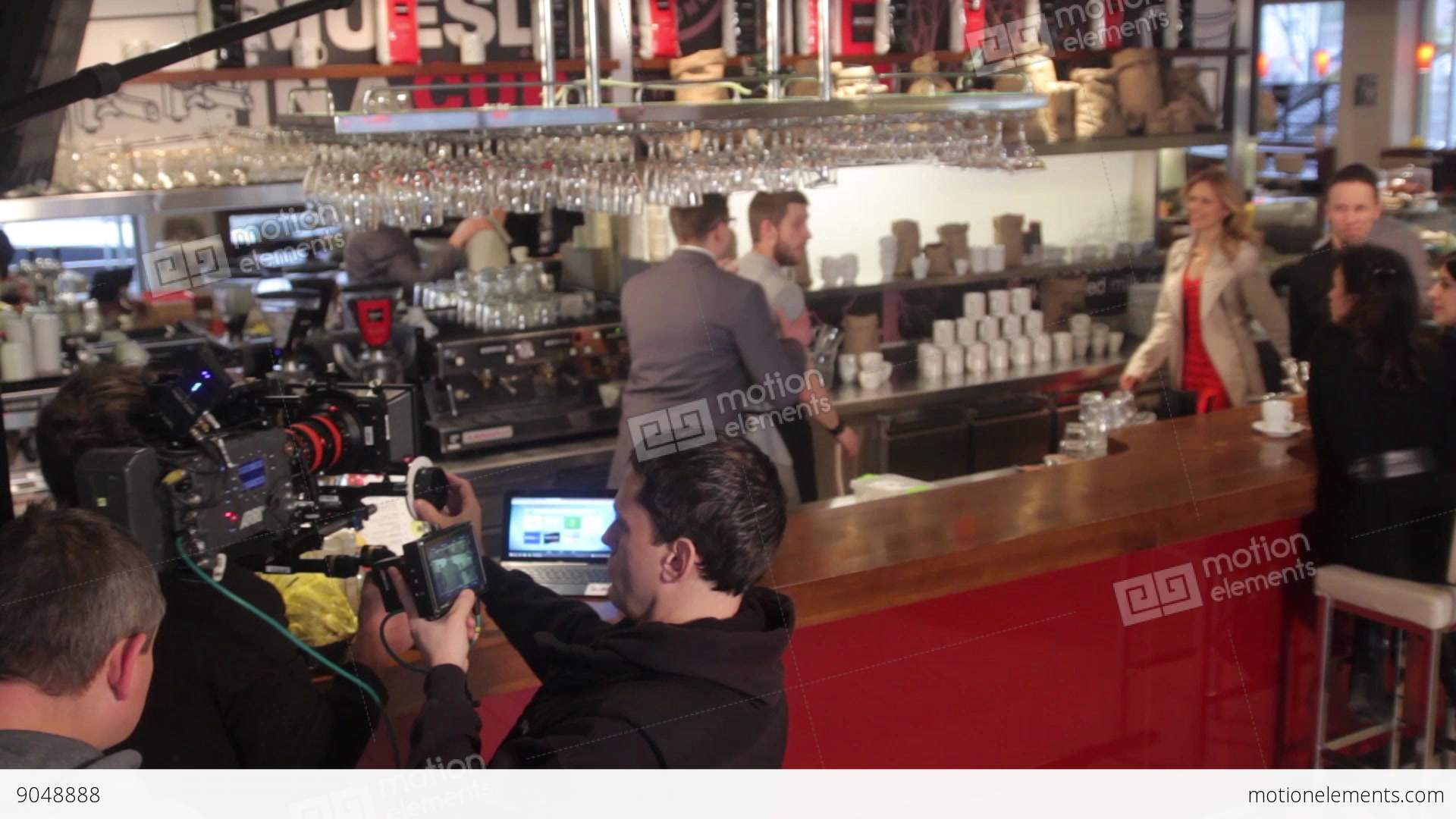 the actors play roles in movies the backstage of filmmaking stock