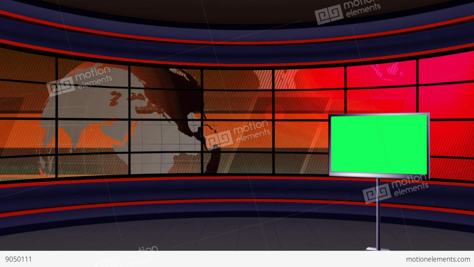 news tv studio set 99 virtual green screen background loop