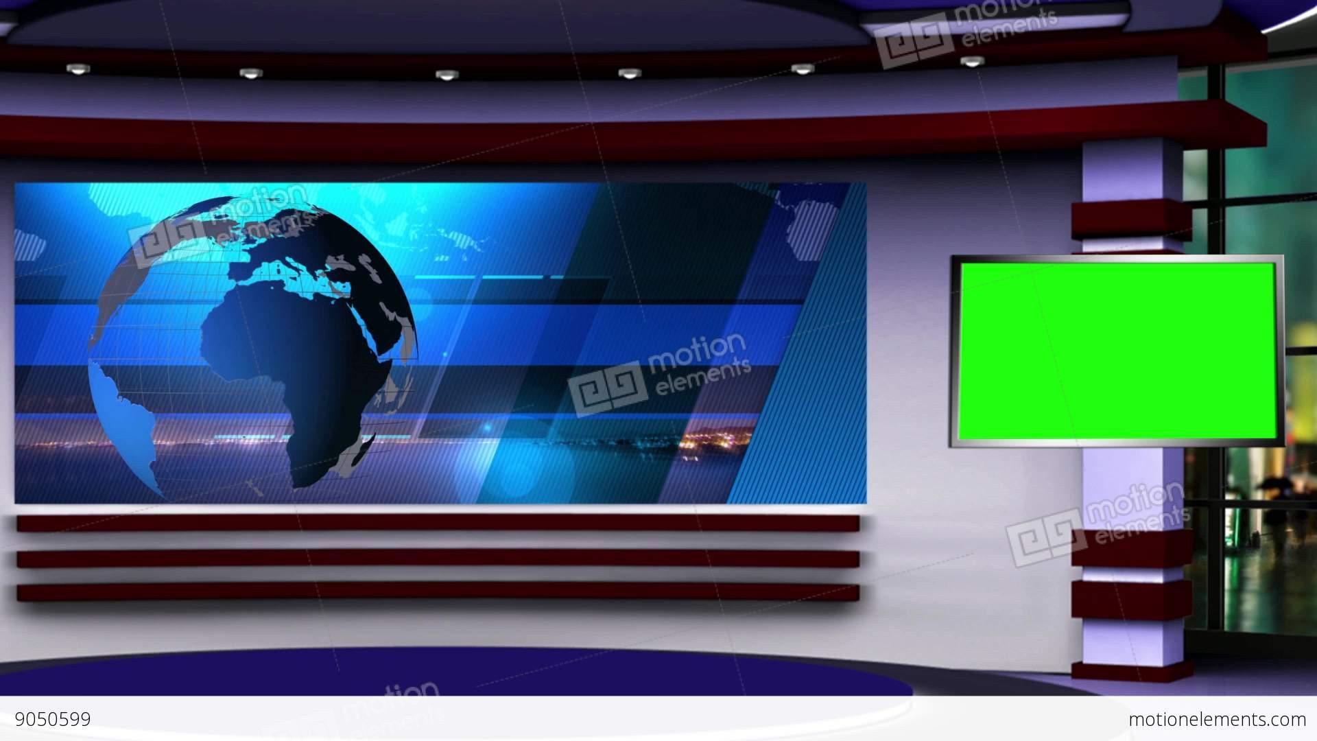 News Studio Desk