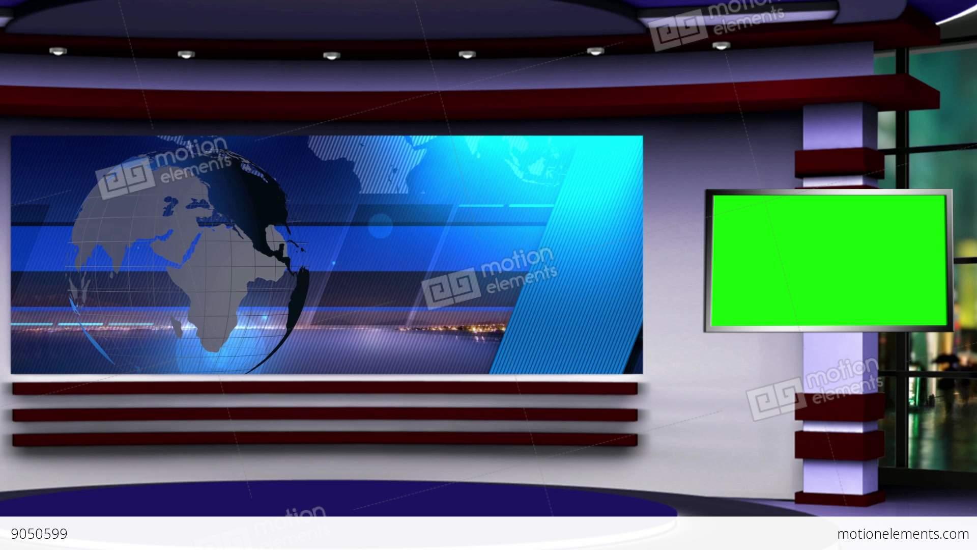 News Studio Background Free