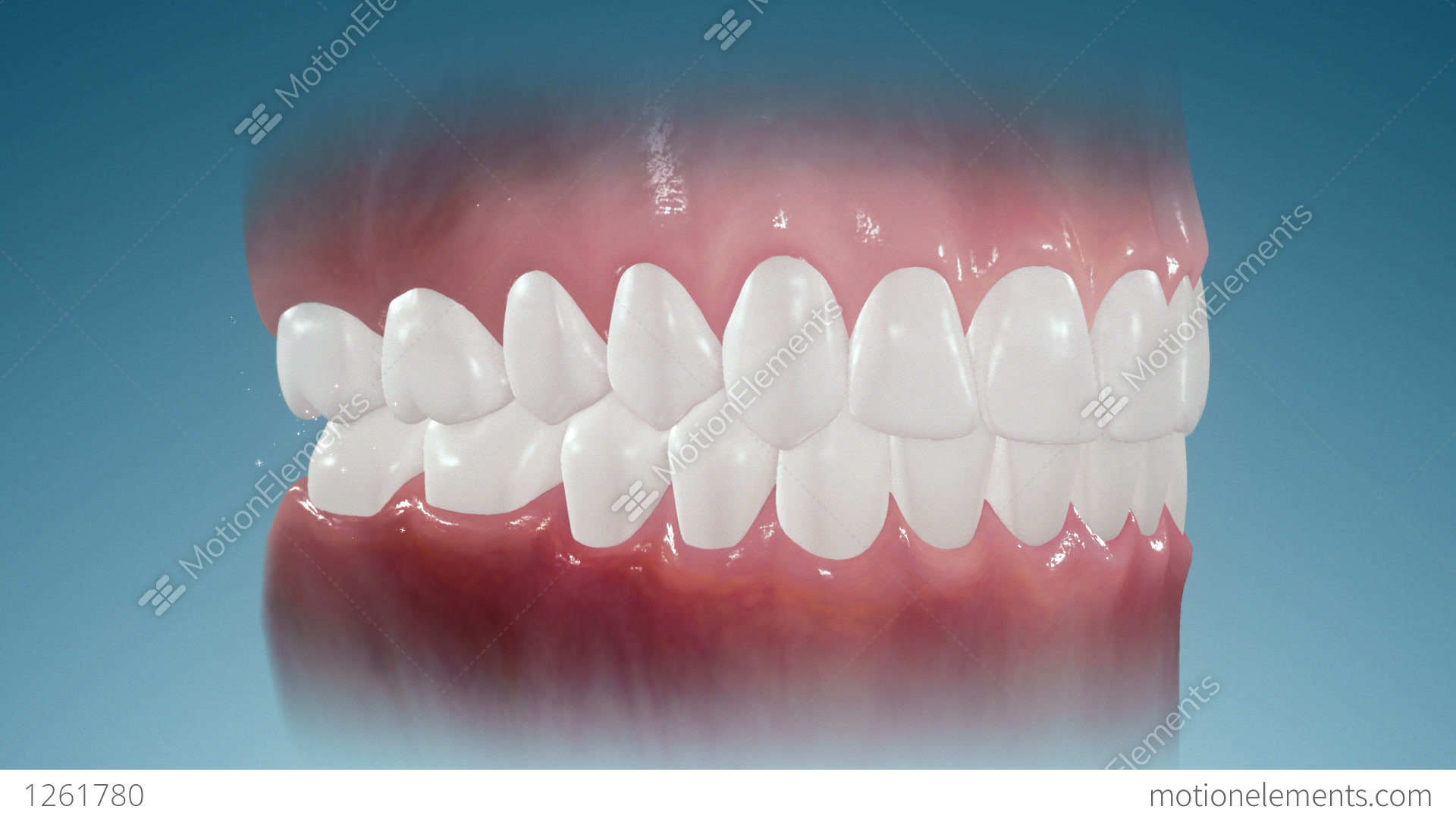 Sparkling Teeth Stock Animation | Royalty-Free Stock Animation ...