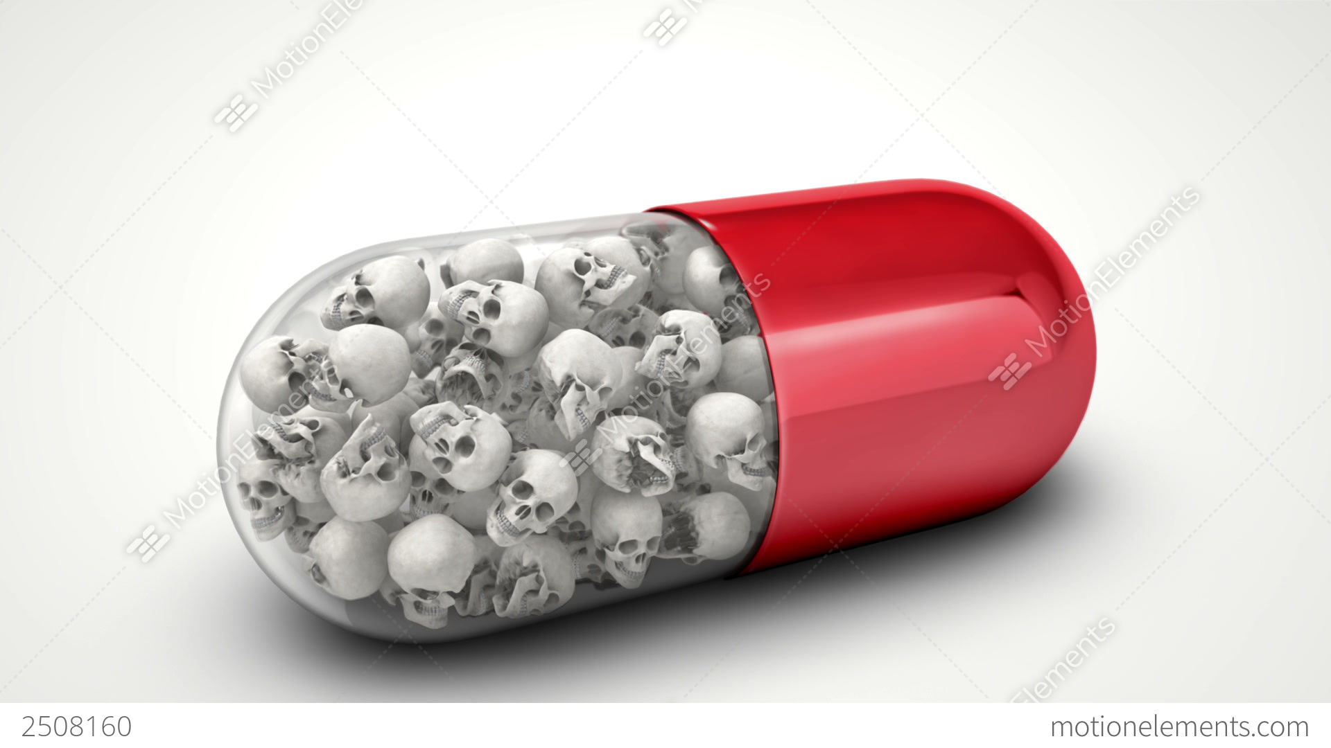 Dangerous Drug Stock Animation