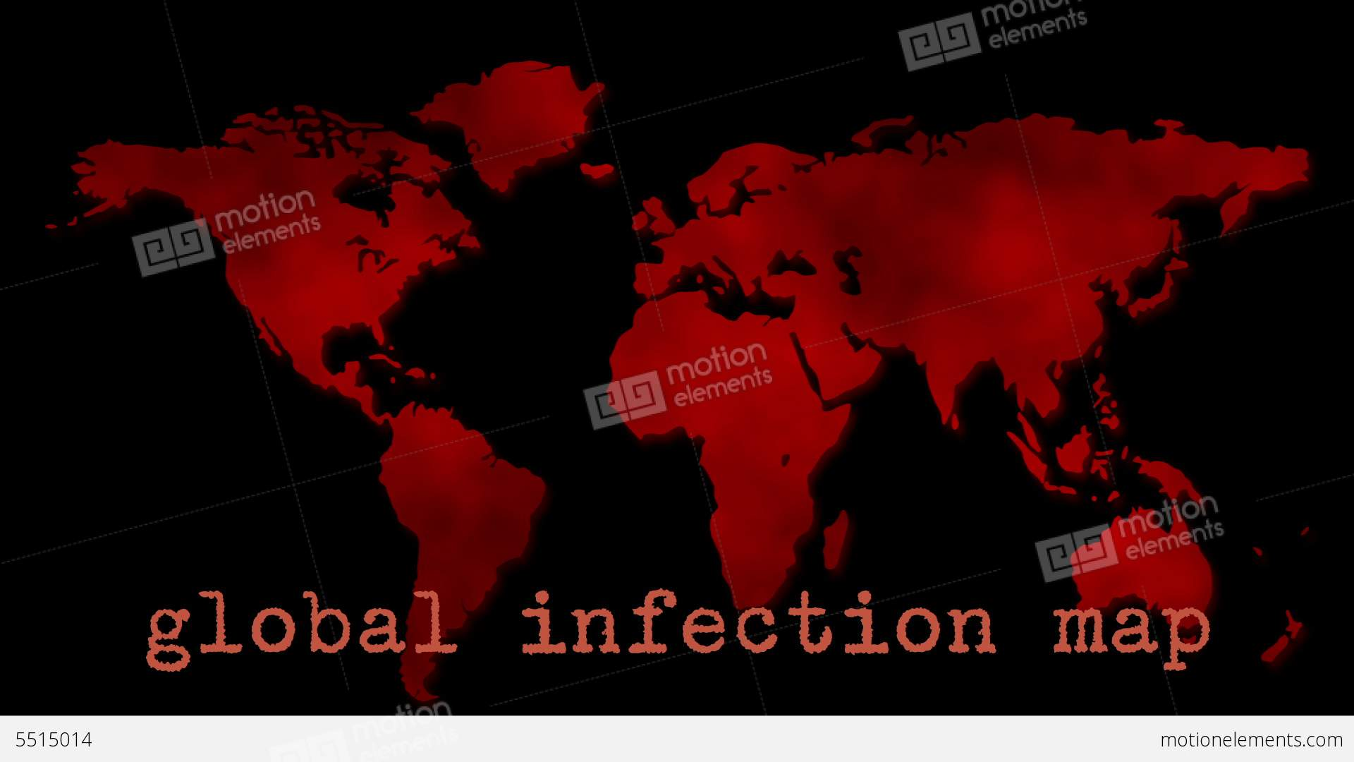 Red global infection map epidemic animacin 5515014 red global infection map epidemic videos de stock gumiabroncs Image collections