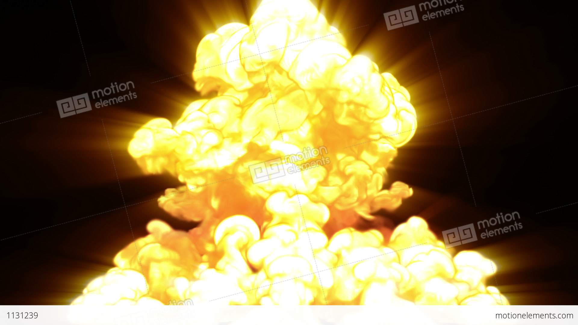 Nuclear Explosion Stock Animation | 1131239