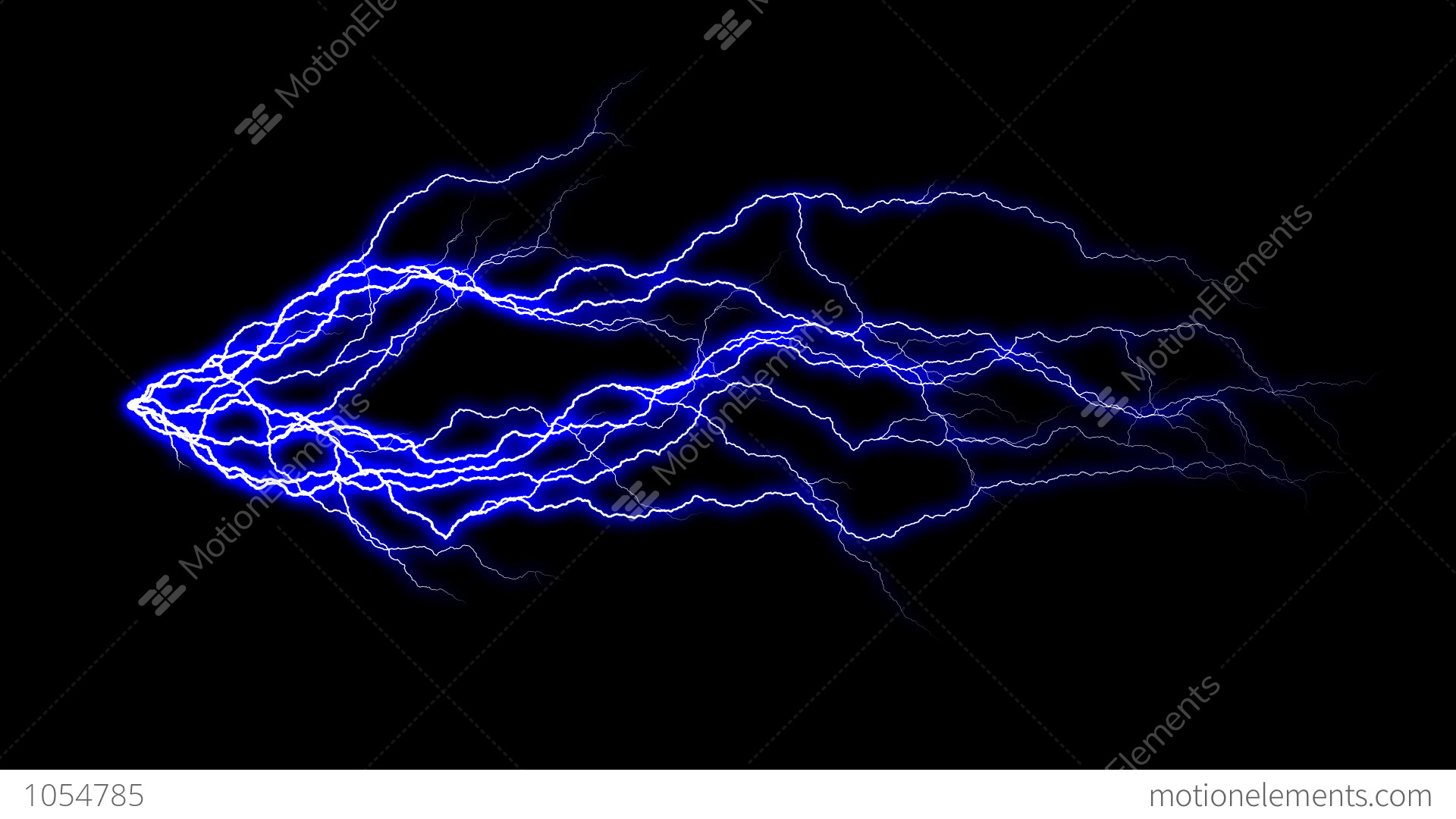 Stock Video 1054785 Hd Thunder Animation With Alpha Channel
