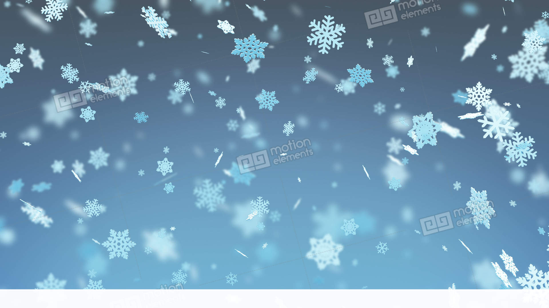 big snowflakes falling with blur winter snowfall merry stock video footage