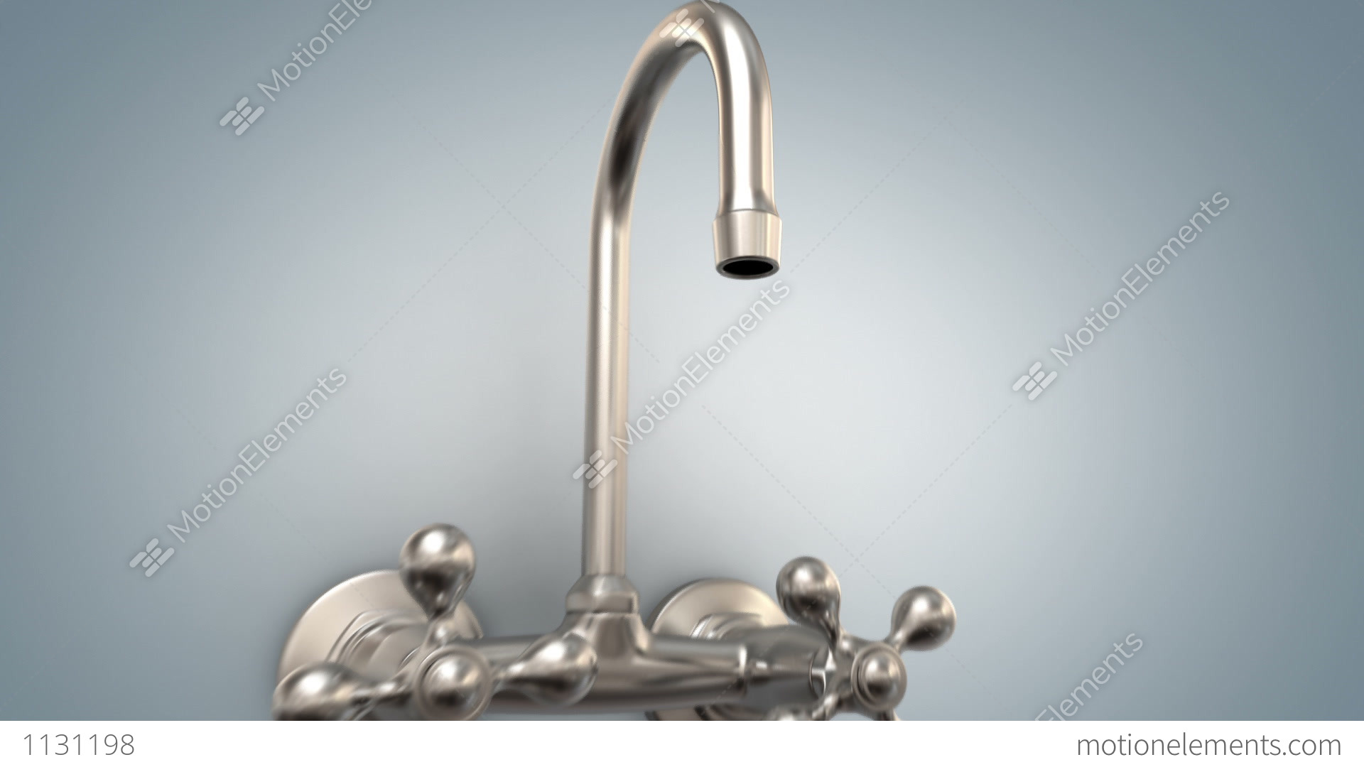 Faucet With No Water Stock Animation | 1131198