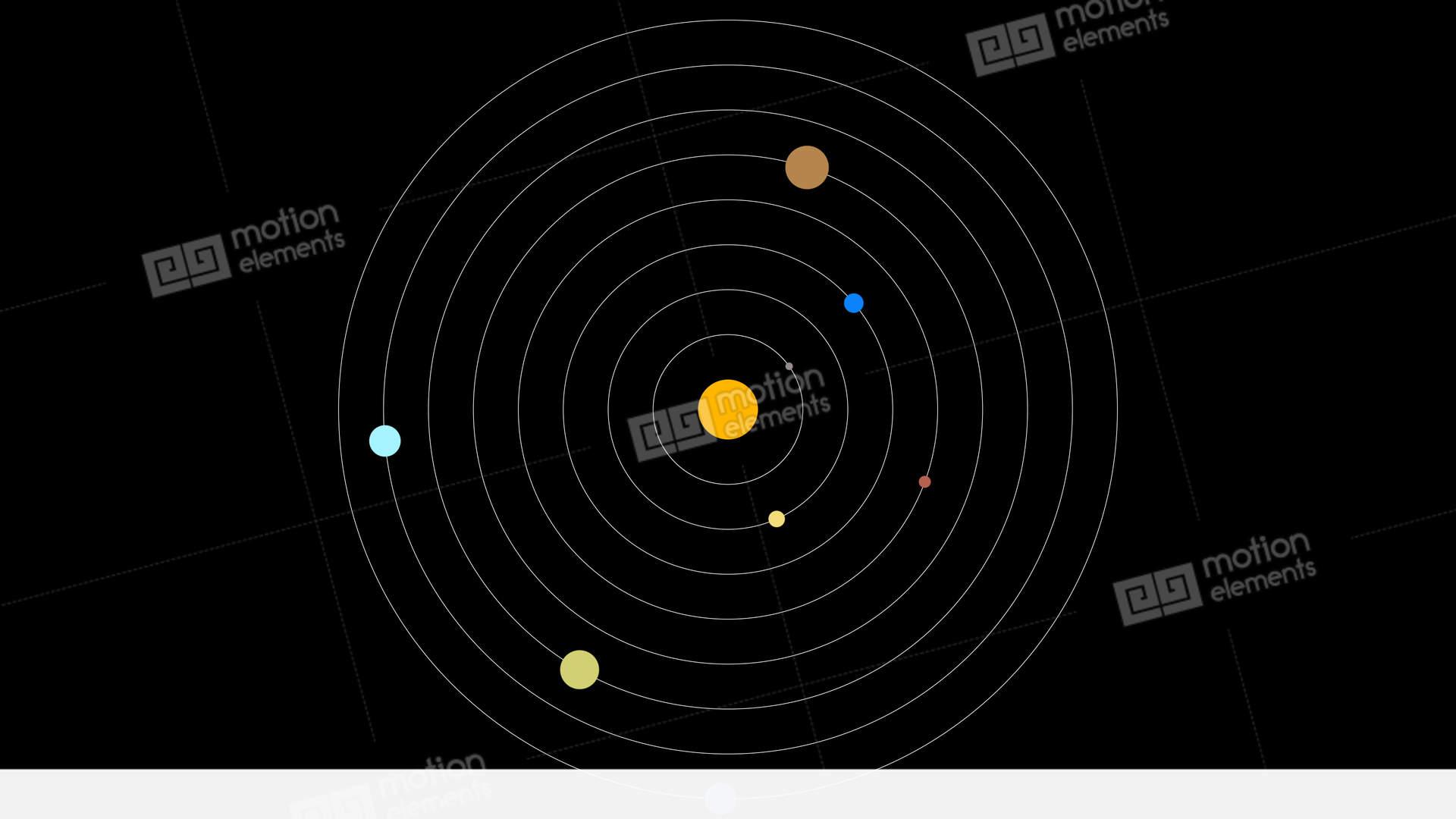 Fine Solar System Diagram Screen Display Stock Animation 11597583 Wiring 101 Capemaxxcnl