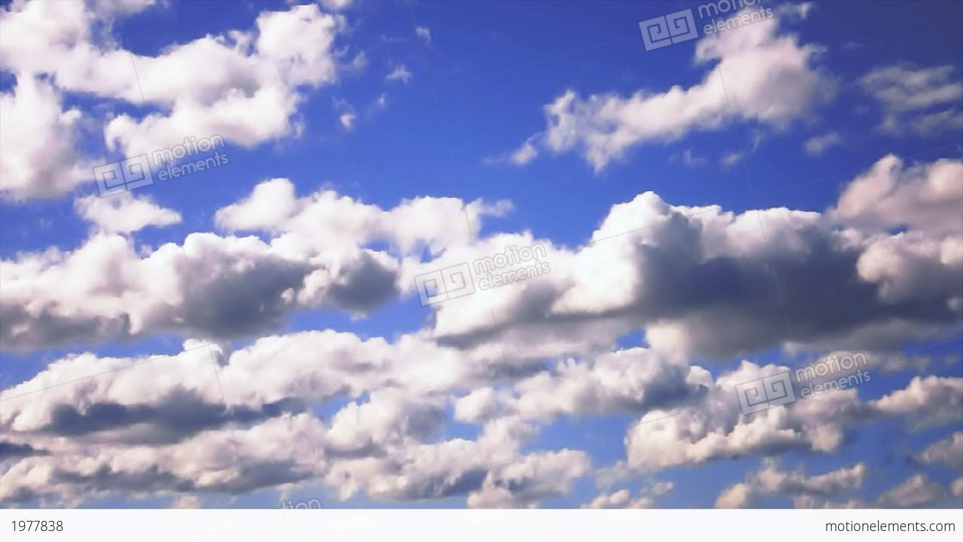 Australia Cloudy Sky Stock Animation