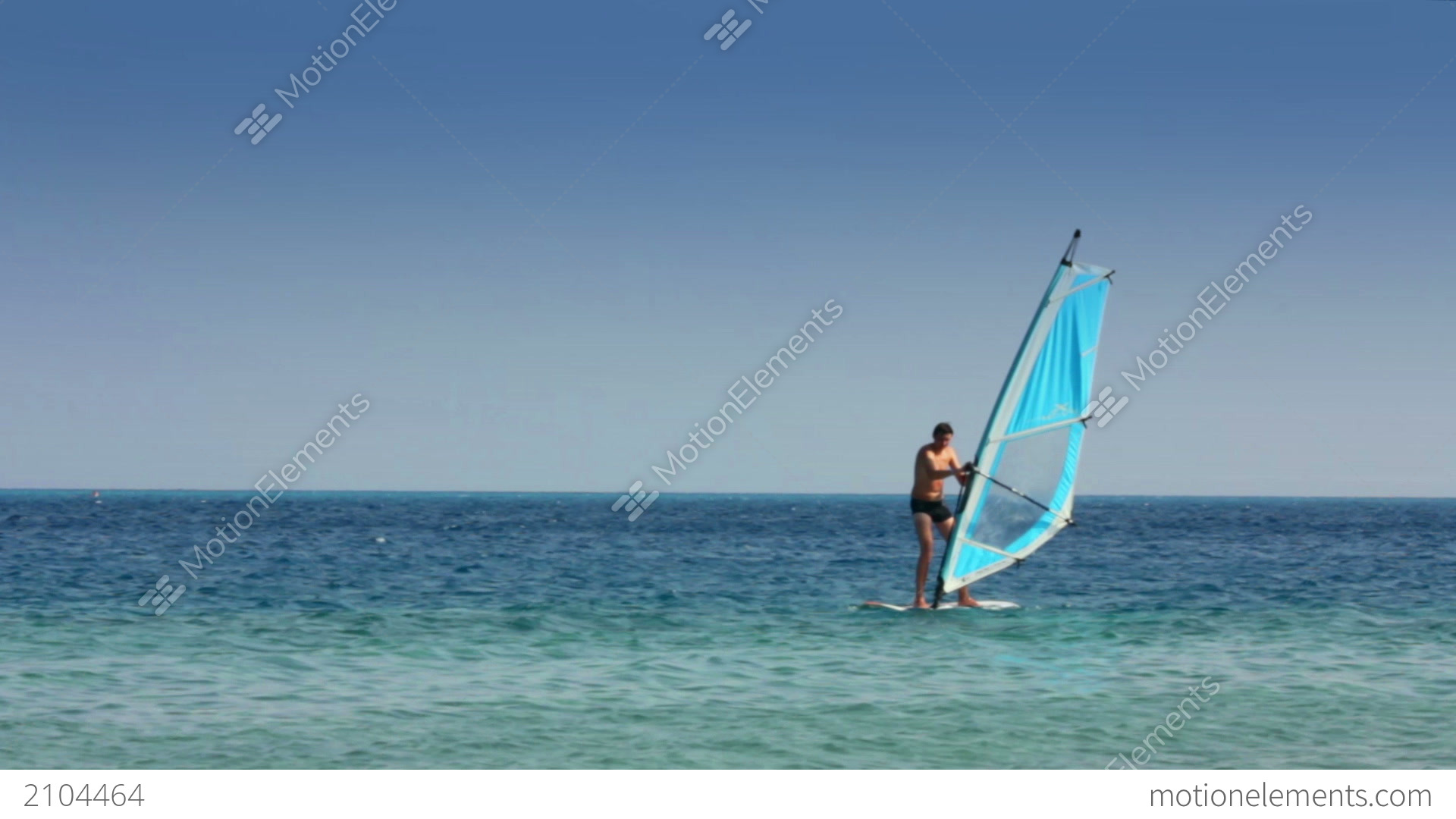 how to ride a windsurfer