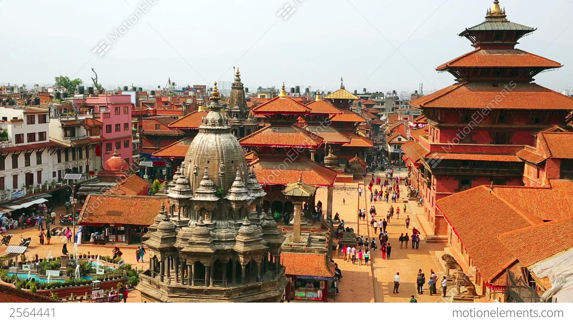 patan durbar square  kathmandu  nepal stock video footage 2564441 Physical Science Clip Art Science Clip Art Work