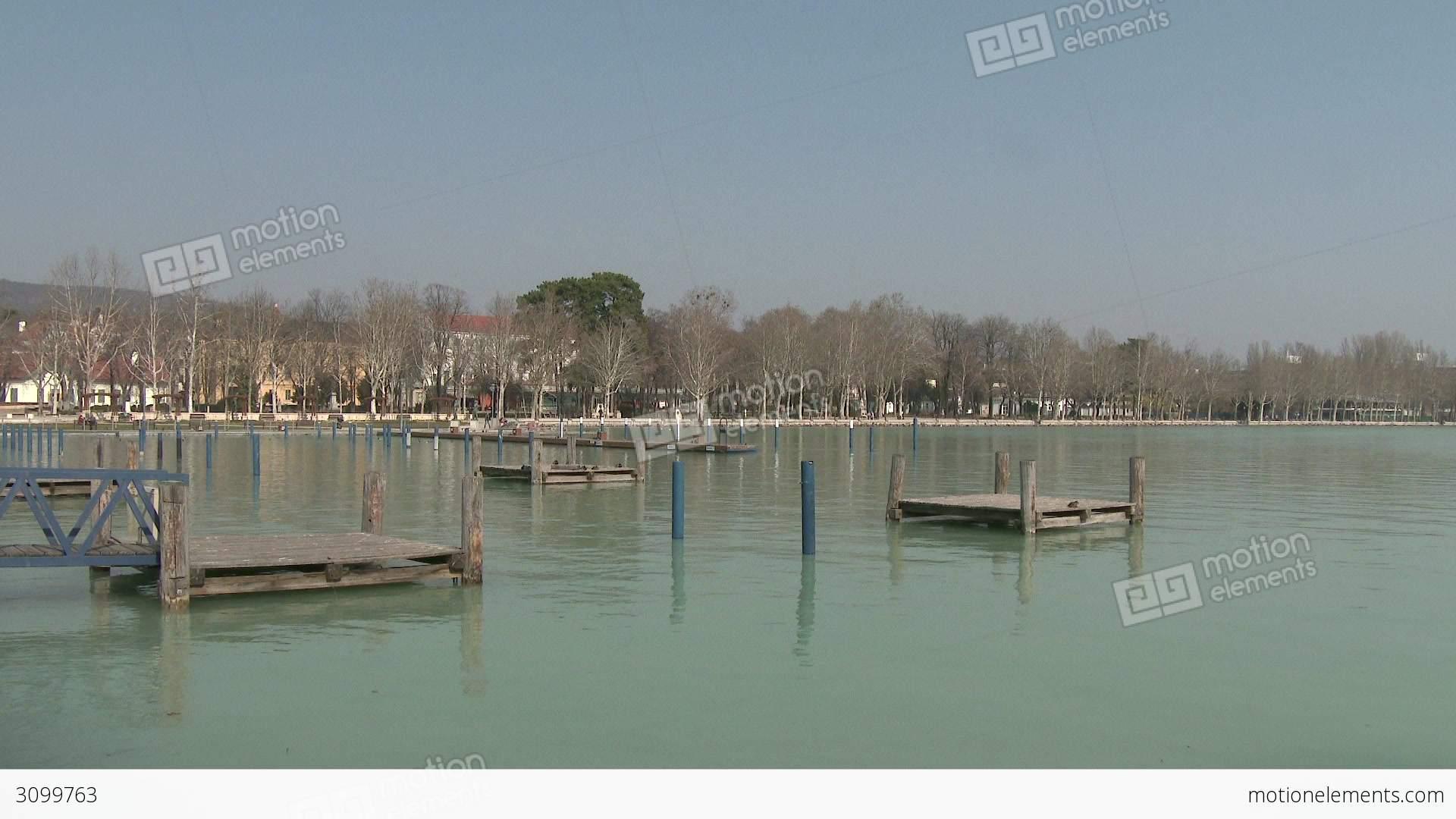 Balatonfured Hungary  City new picture : Balatonfured Hungary Pier 3 動画素材 | ロイヤリティフリー ...