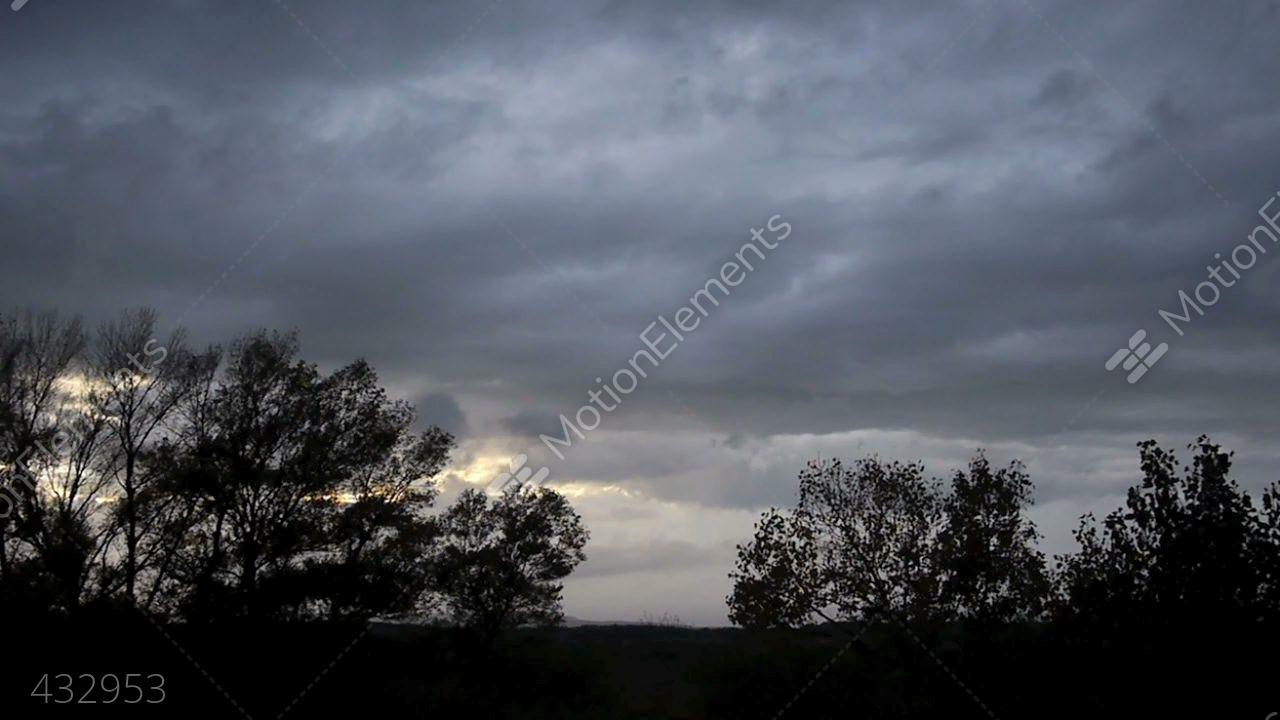 Rain Clouds Stock video footage | 432953