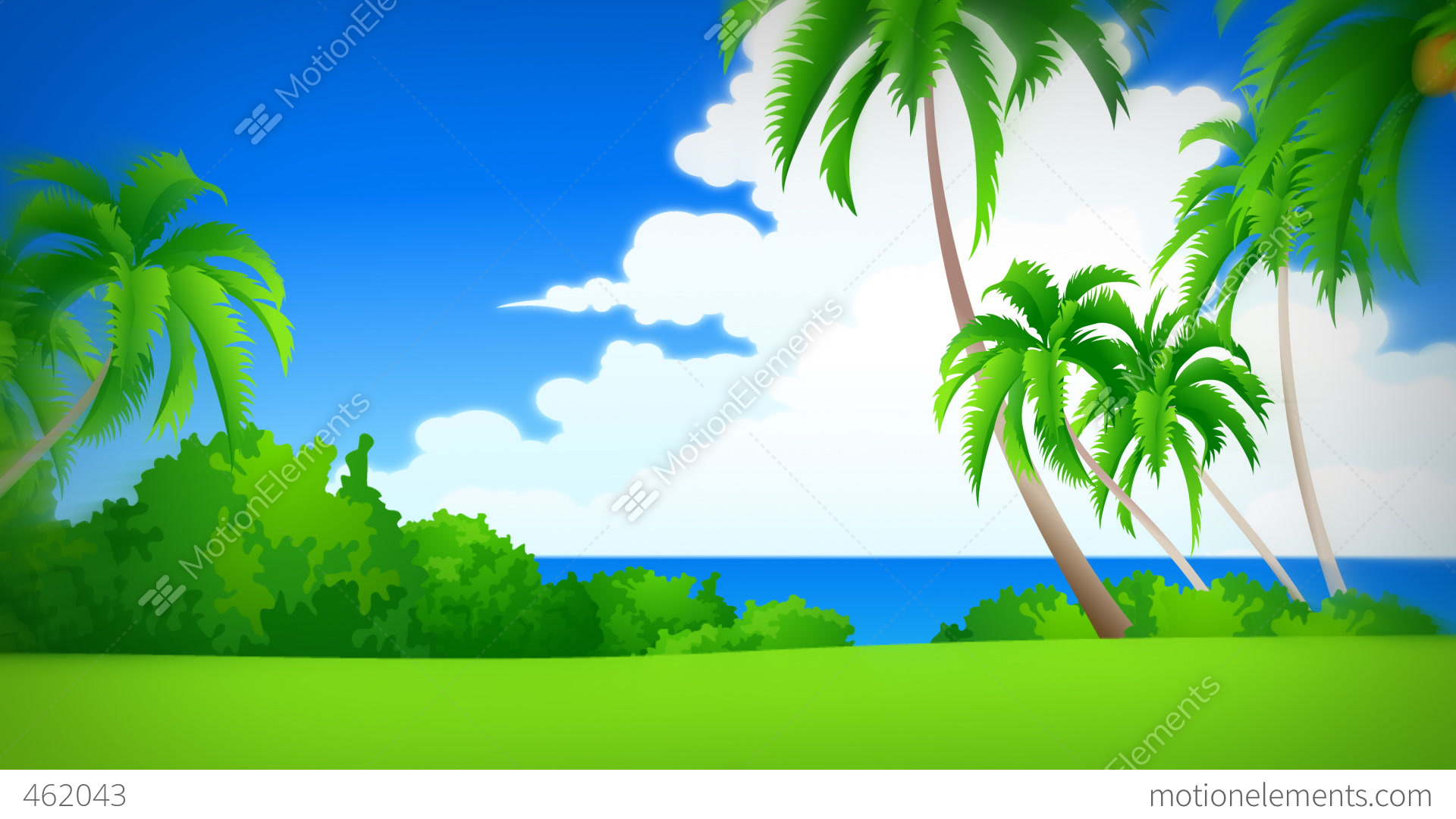 Animated Background For Television Presentations Stock ...