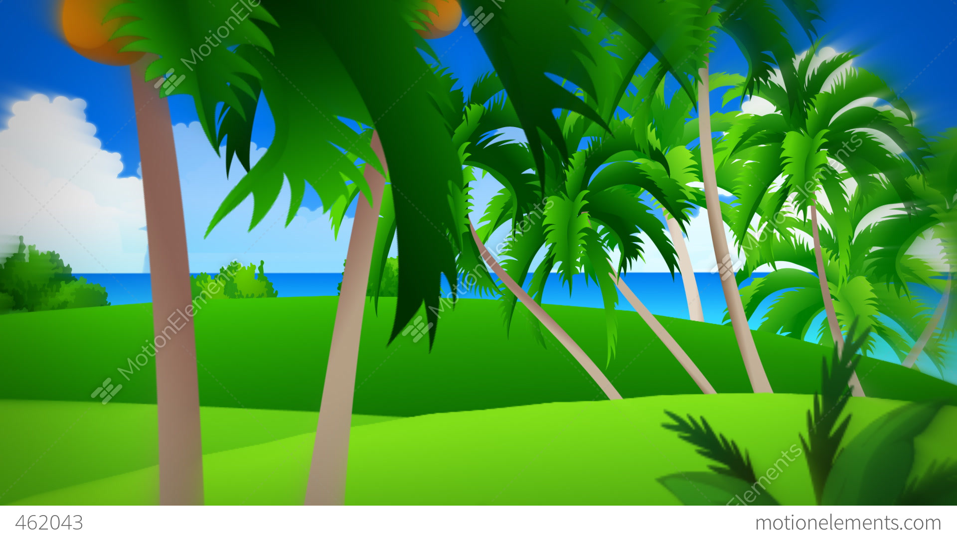 animated background for television presentations stock