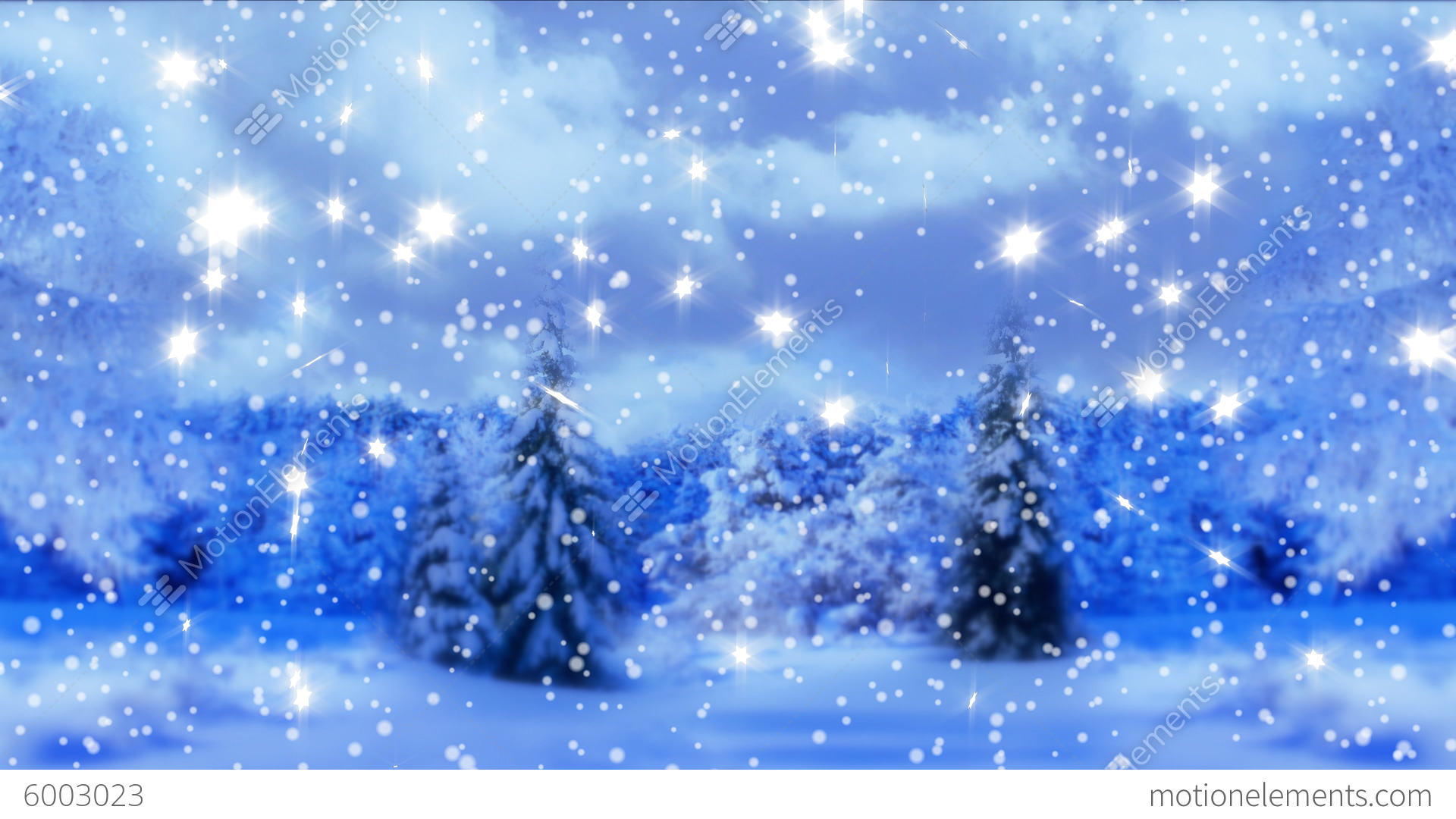 4k.New Year,christmas,3d Winter Background Stock Video