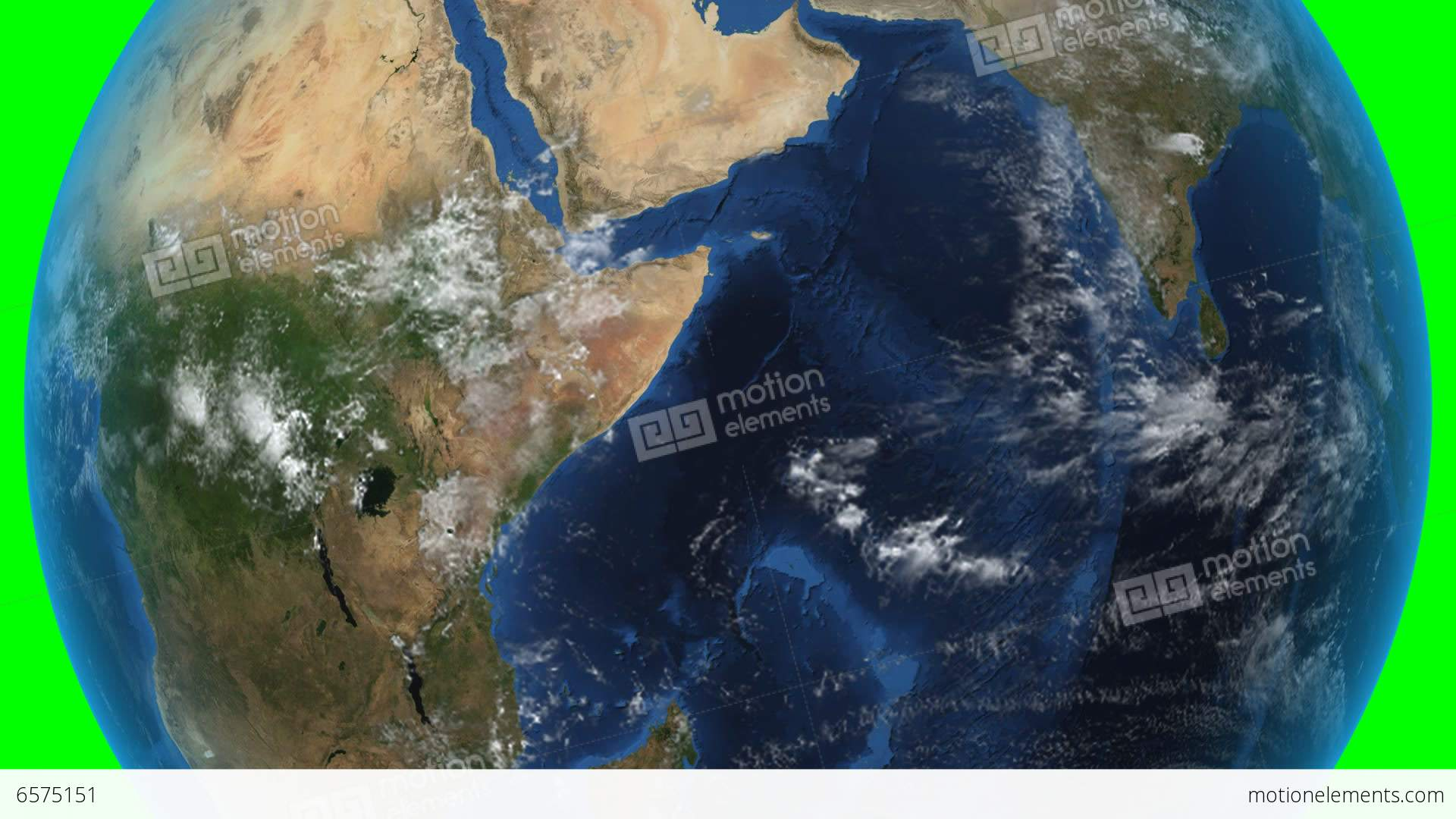 south sudan 3d earth in space zoom in on south stock animation