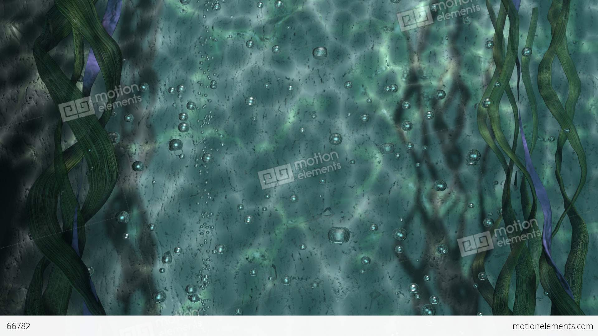 Underwater Bubbles Stock Animation | 66782