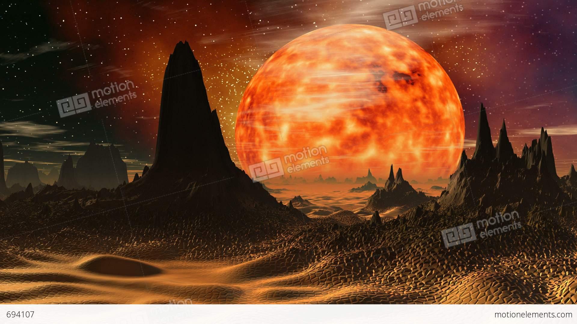 Sunrise on venus stock animation 694107 sunrise on venus stock video footage voltagebd Image collections