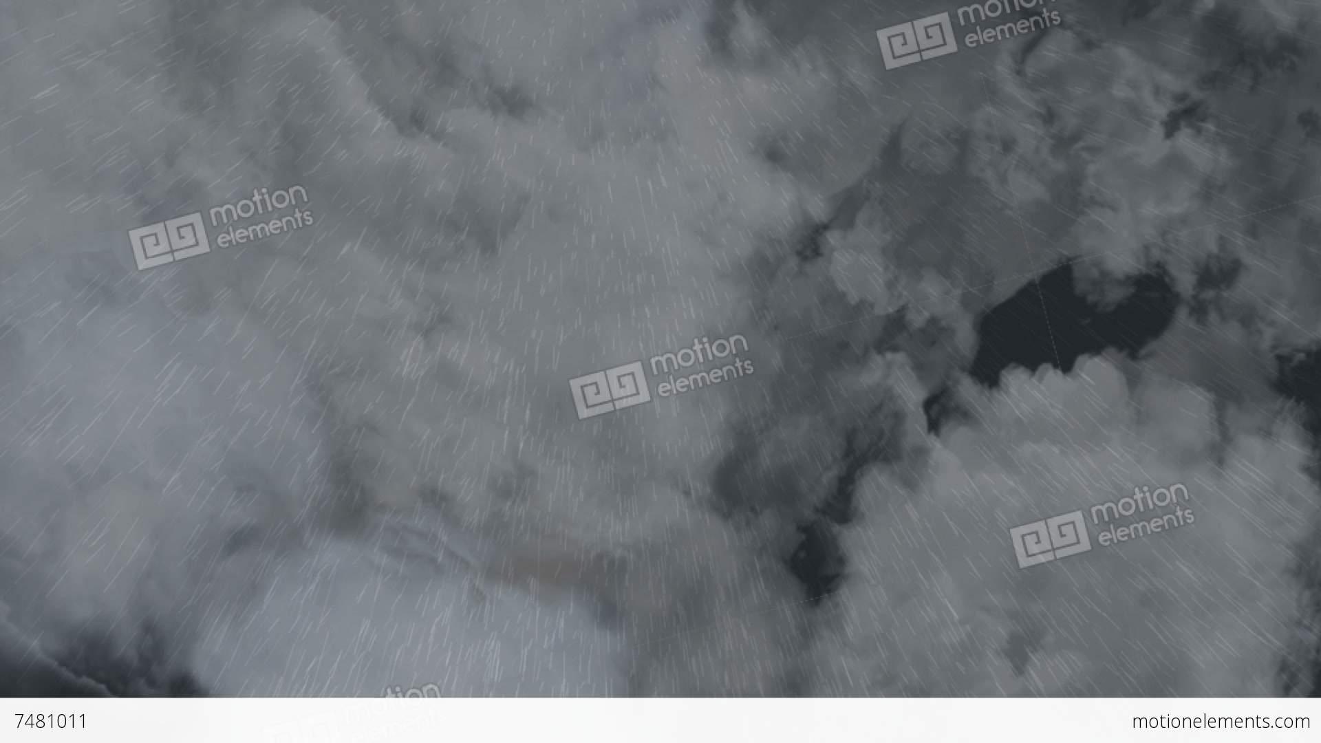 Rain Cloud Stock Animation | 7481011
