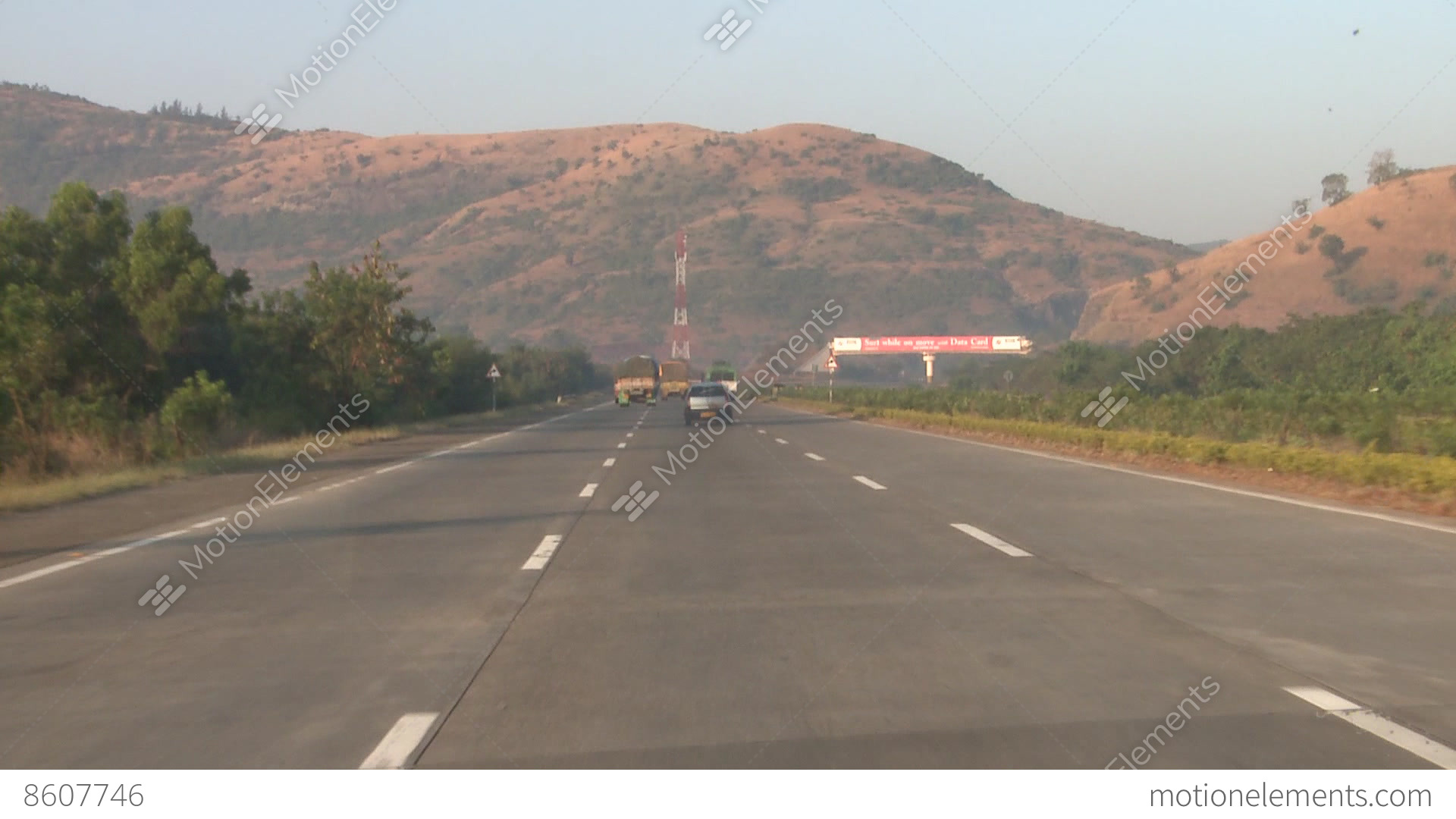 Indian Roads Amp Highways Stock Video Footage